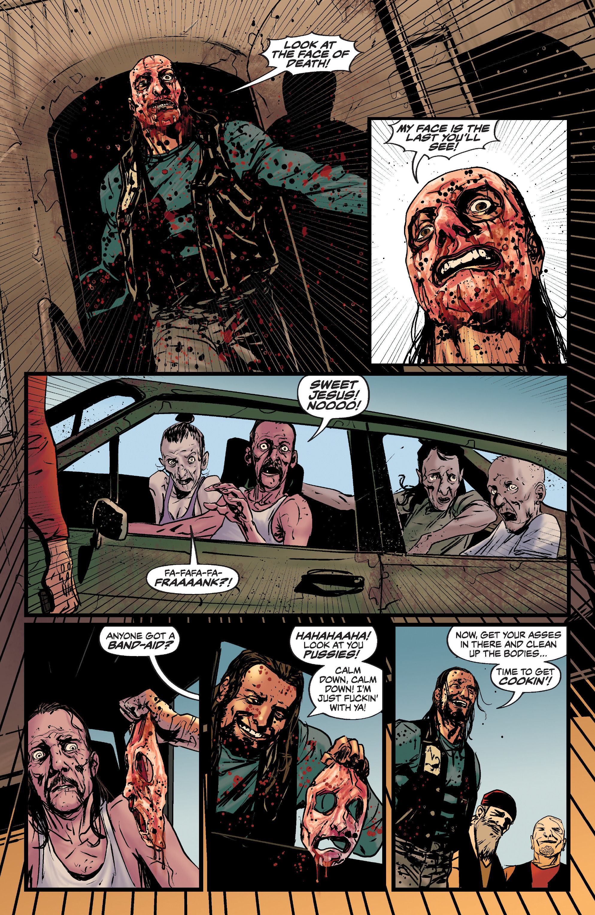 Read online Slayer: Repentless comic -  Issue #1 - 21