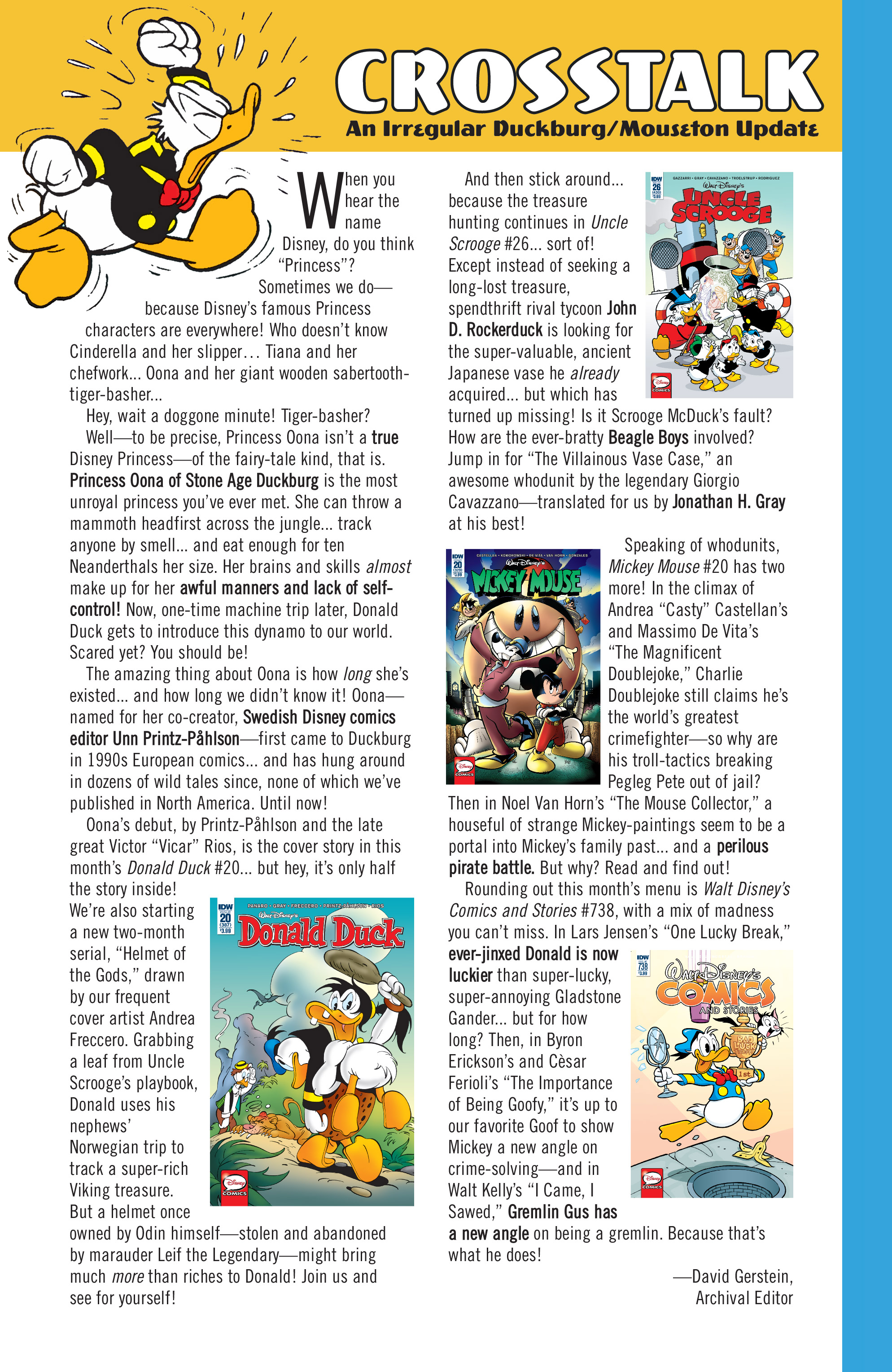 Read online Donald Duck (2015) comic -  Issue #20 - 35