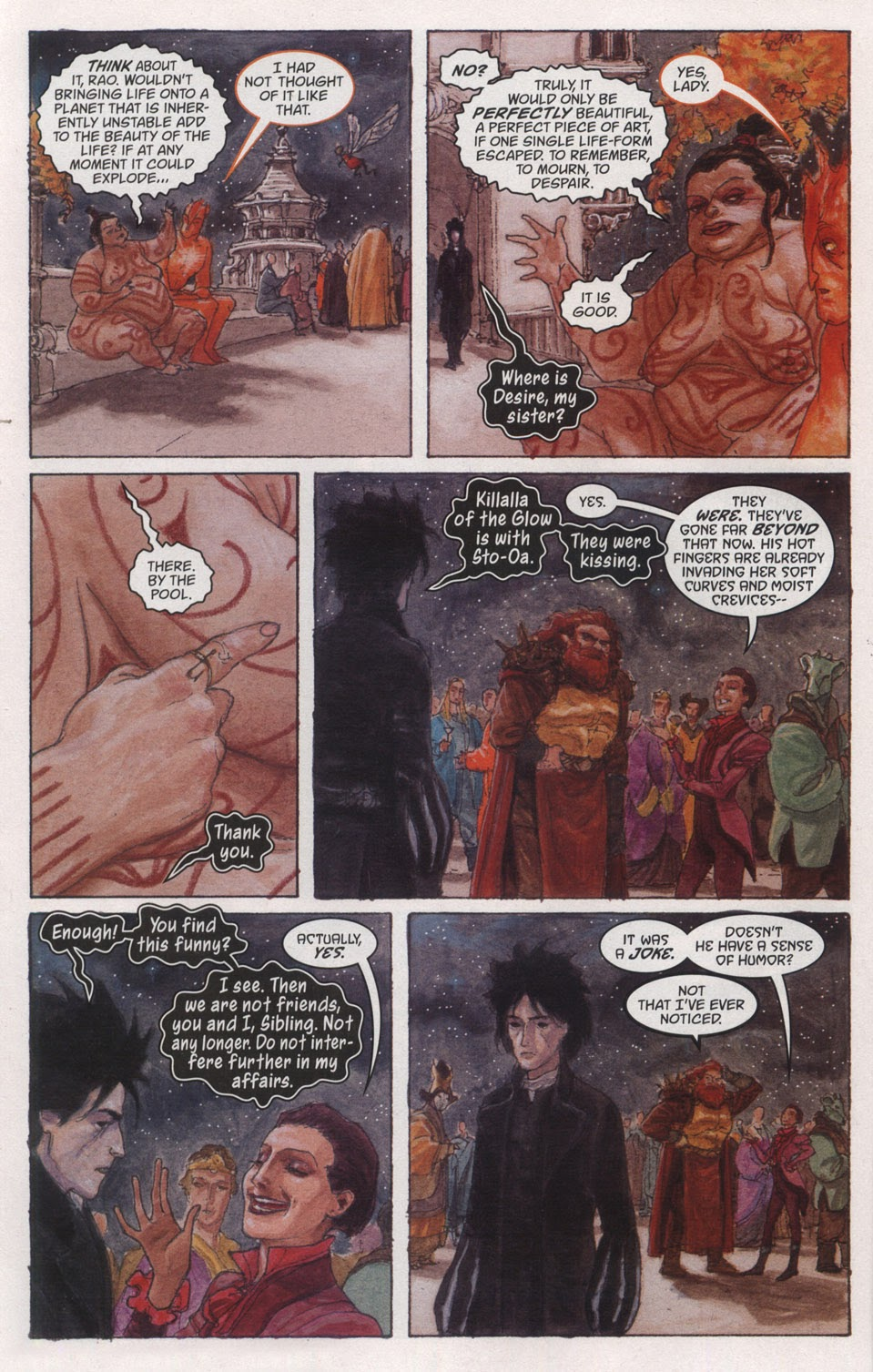Read online The Sandman: Endless Nights comic -  Issue # _Special - 22