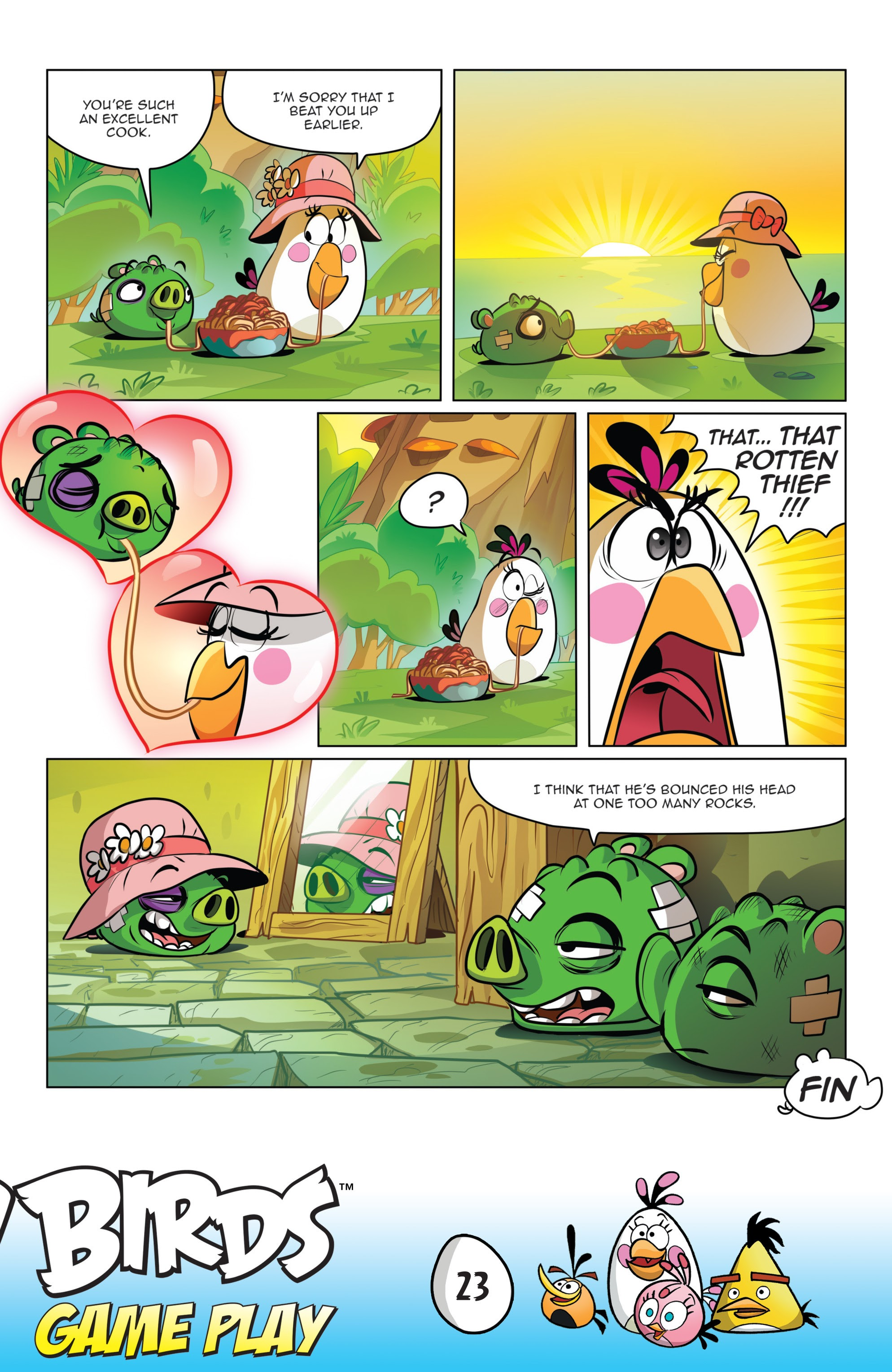 Read online Angry Birds Comics: Game Play comic -  Issue #1 - 25