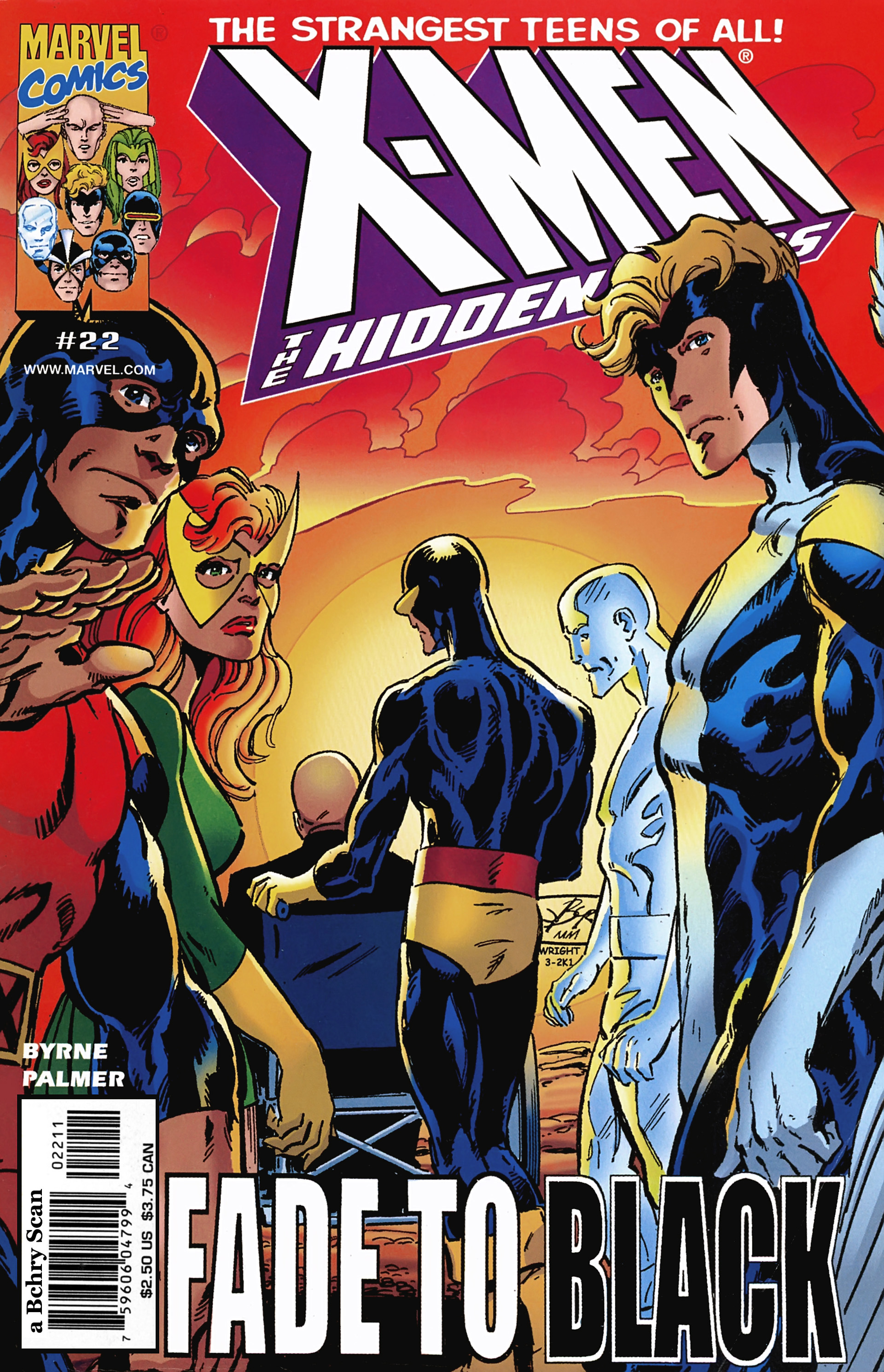 X-Men: Hidden Years 22 Page 1