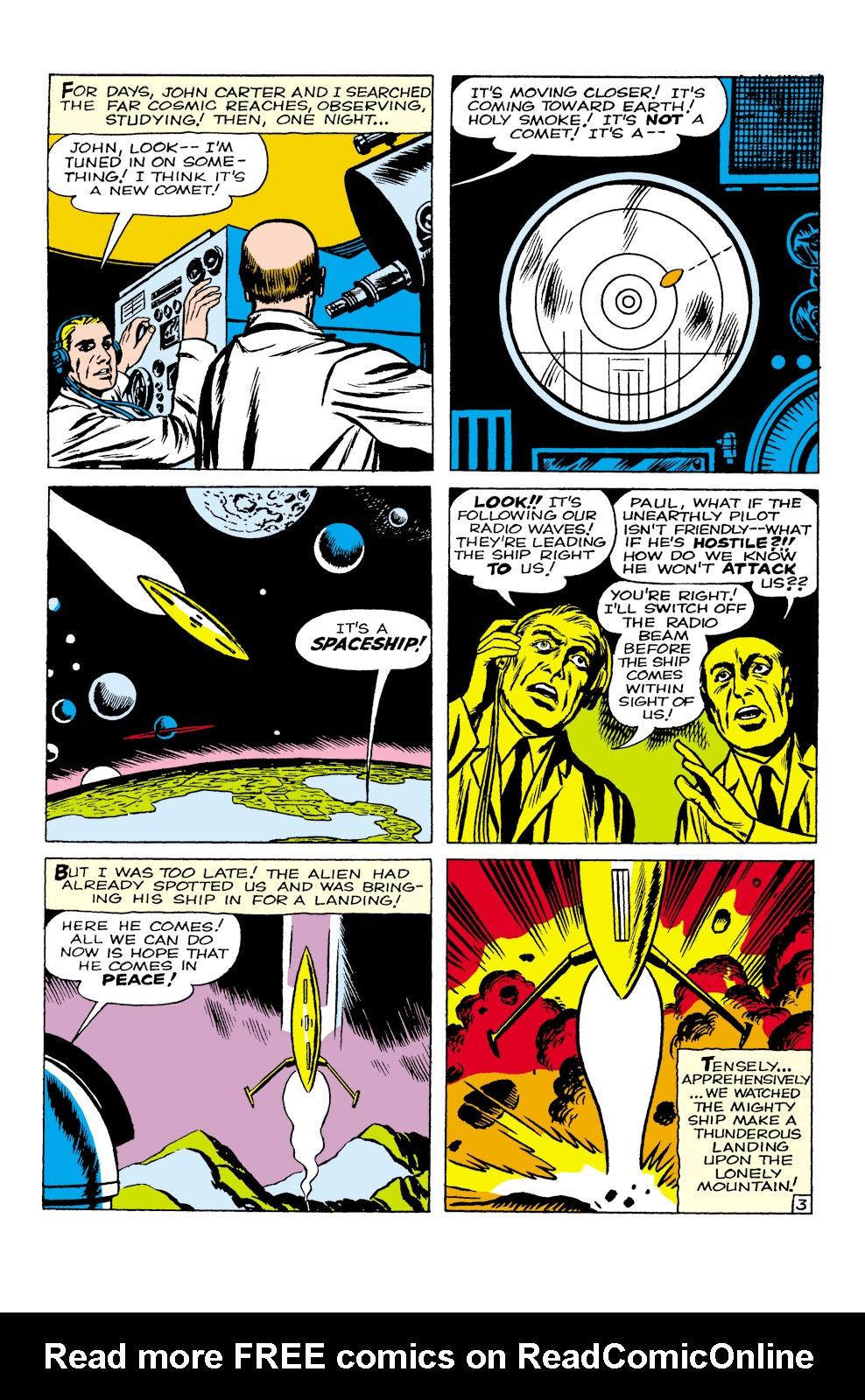 Read online Amazing Adventures (1961) comic -  Issue #1 - 4