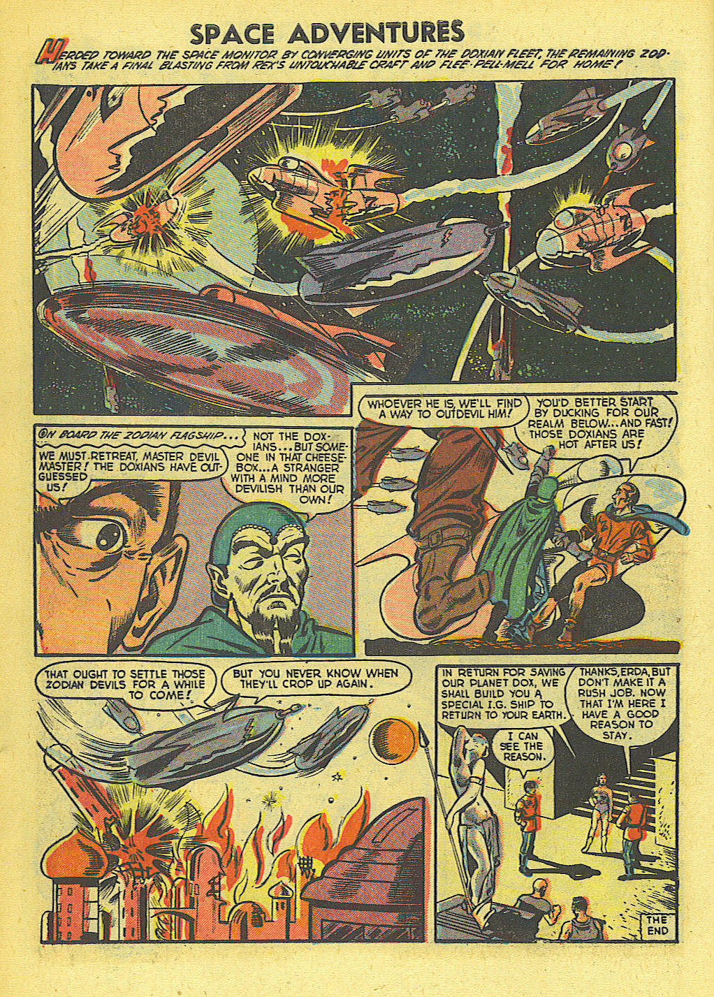 Space Adventures (1952) issue 4 - Page 9