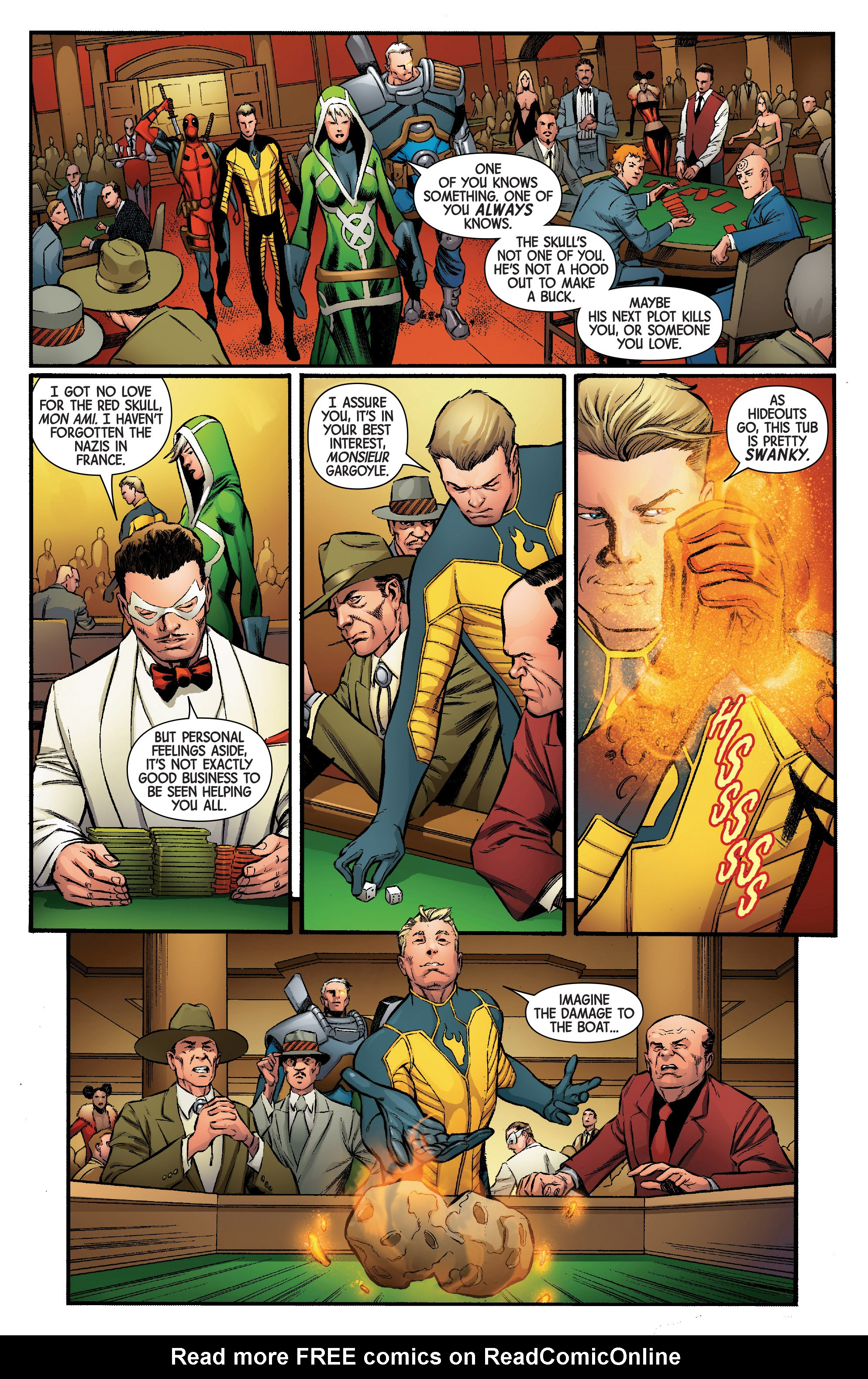 Read online Uncanny Avengers [II] comic -  Issue #5 - 4