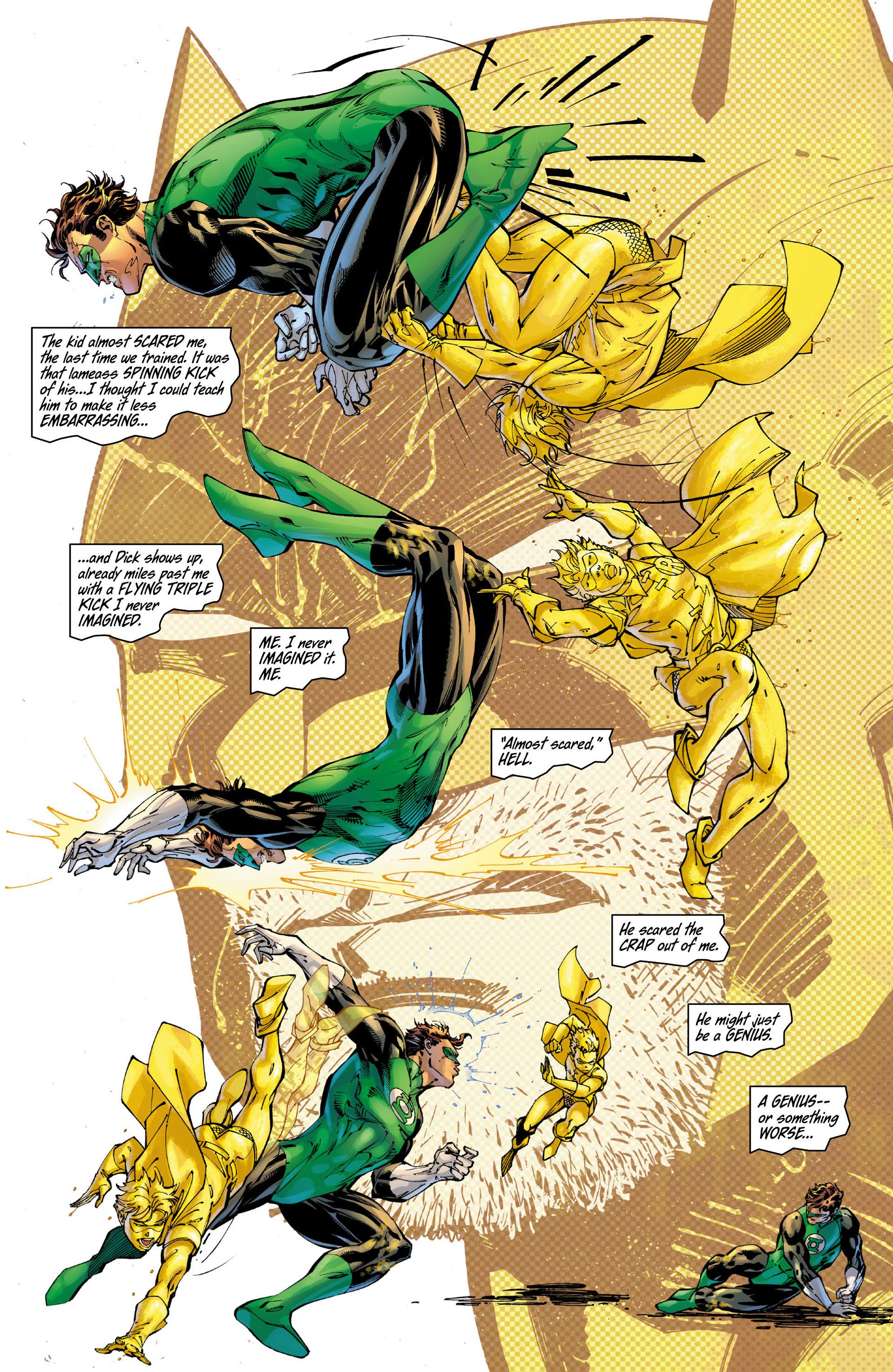 Read online All Star Batman & Robin, The Boy Wonder comic -  Issue #9 - 13