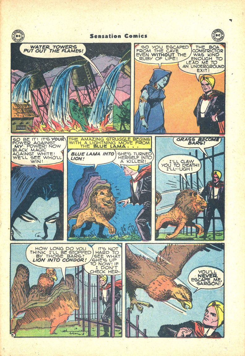 Read online Sensation (Mystery) Comics comic -  Issue #68 - 37