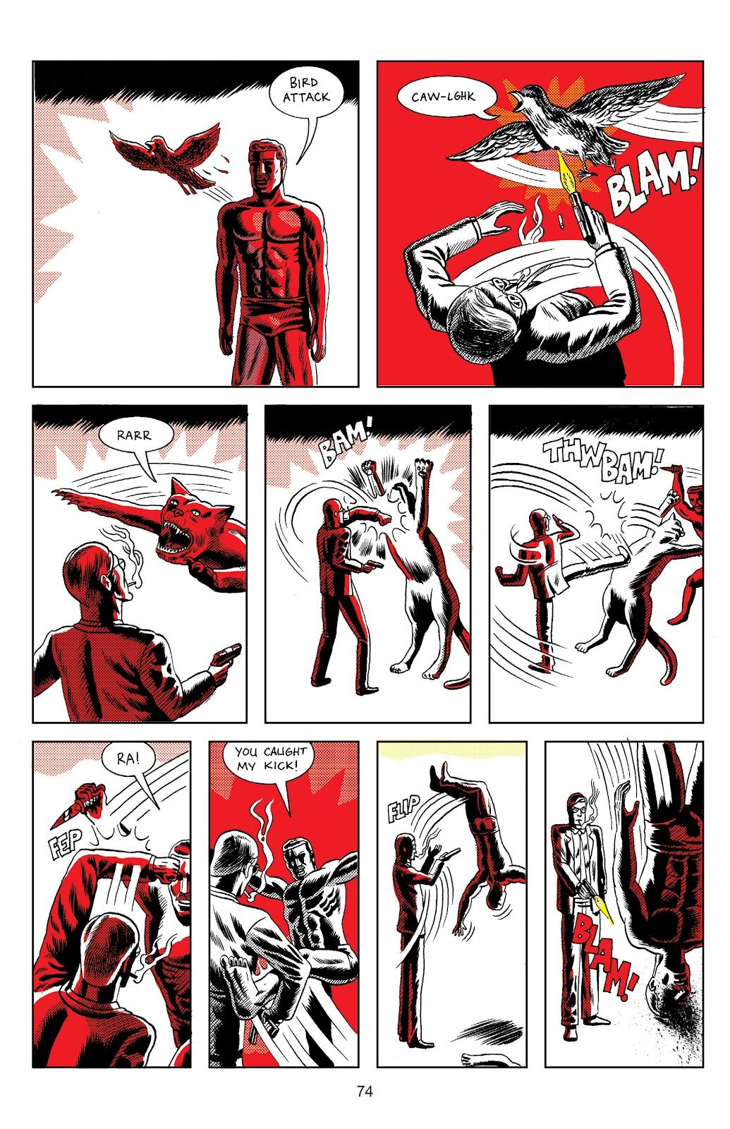 Read online Terror Assaulter: O.M.W.O.T (One Man War On Terror) comic -  Issue # TPB - 74