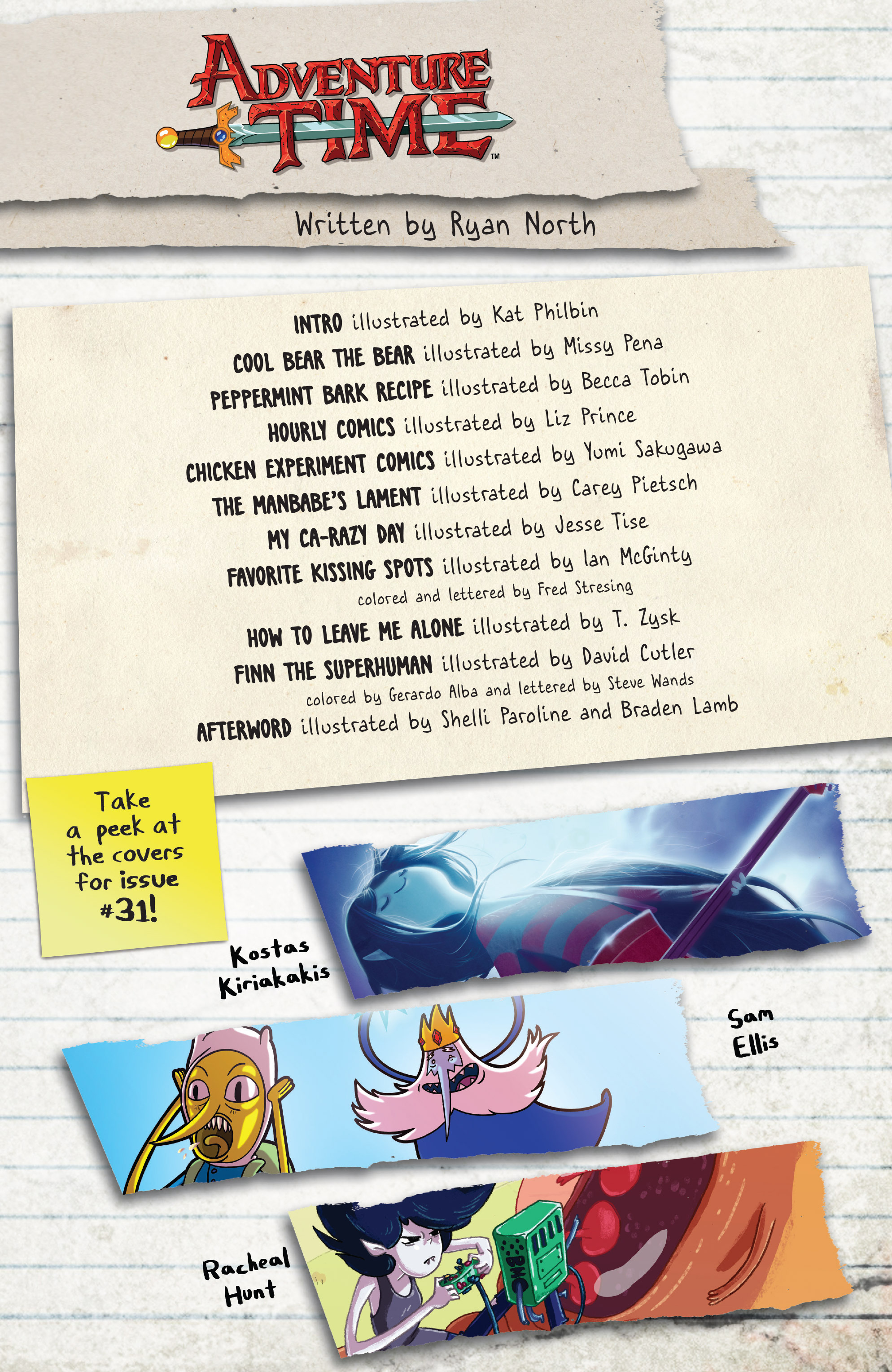 Read online Adventure Time comic -  Issue #30 - 25