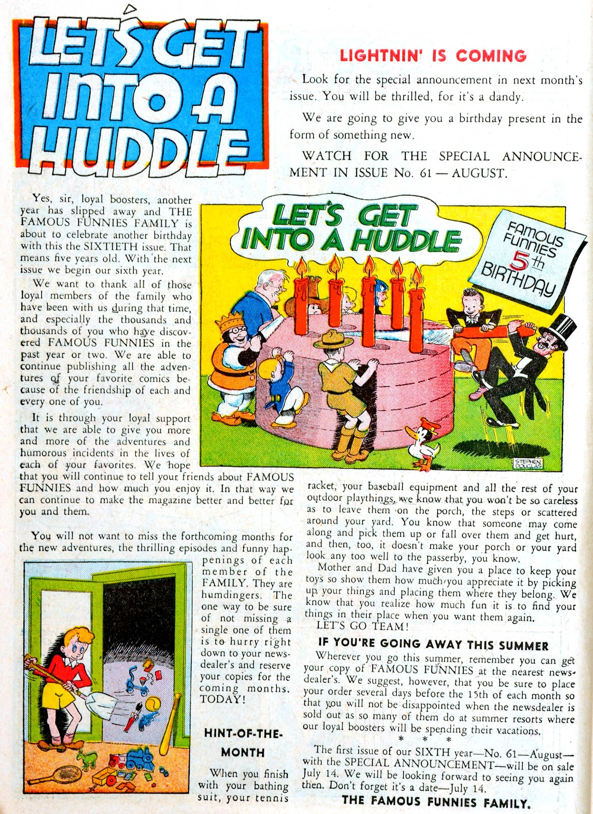 Read online Famous Funnies comic -  Issue #60 - 10