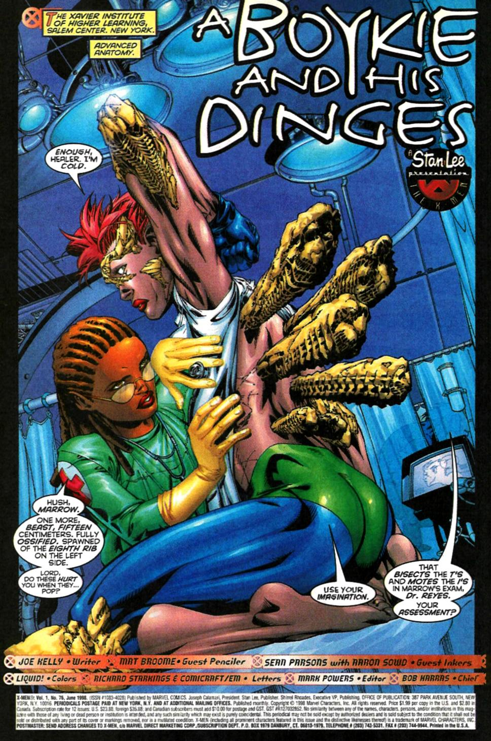 X-Men (1991) 76 Page 1