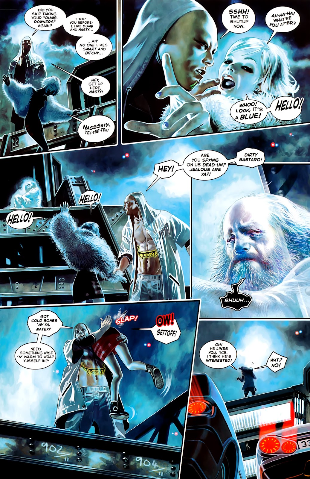 Read online After Dark comic -  Issue #0 - 25