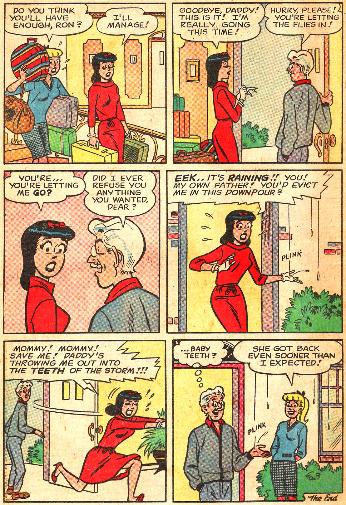 Read online Archie's Girls Betty and Veronica comic -  Issue #87 - 8