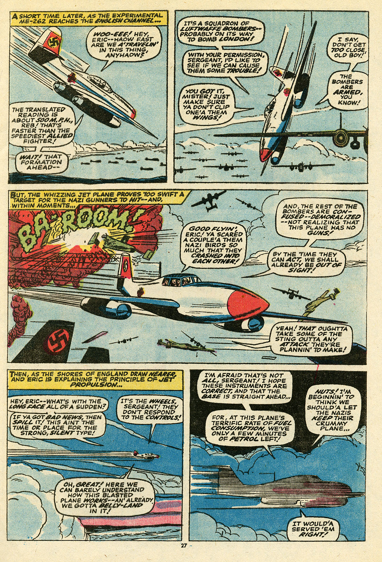Read online Sgt. Fury comic -  Issue #111 - 29