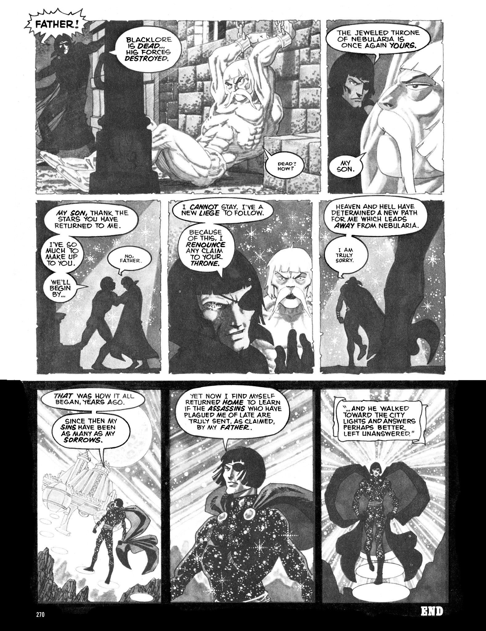 Read online Eerie Archives comic -  Issue # TPB 16 - 271
