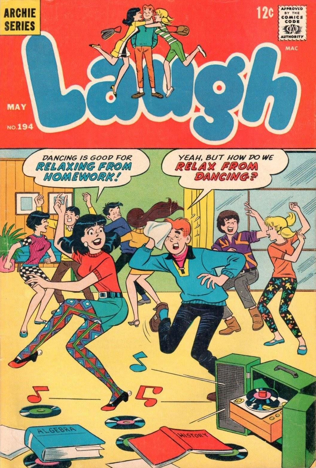 Laugh (Comics) 194 Page 1