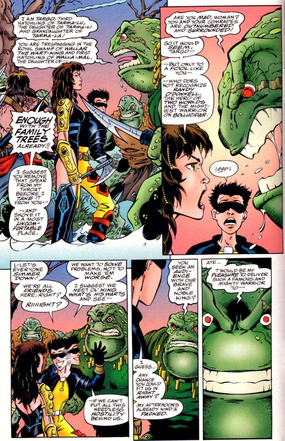 Read online Randy O'Donnell is The M@N comic -  Issue #3 - 8