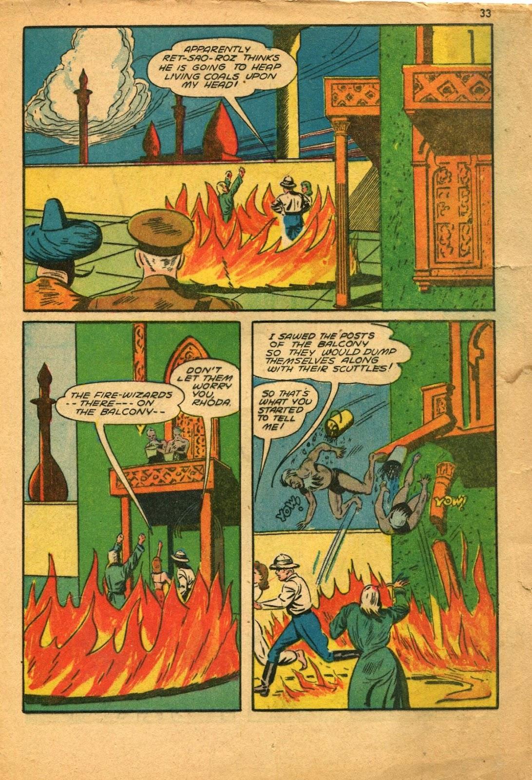 Read online Super-Magician Comics comic -  Issue #11 - 33
