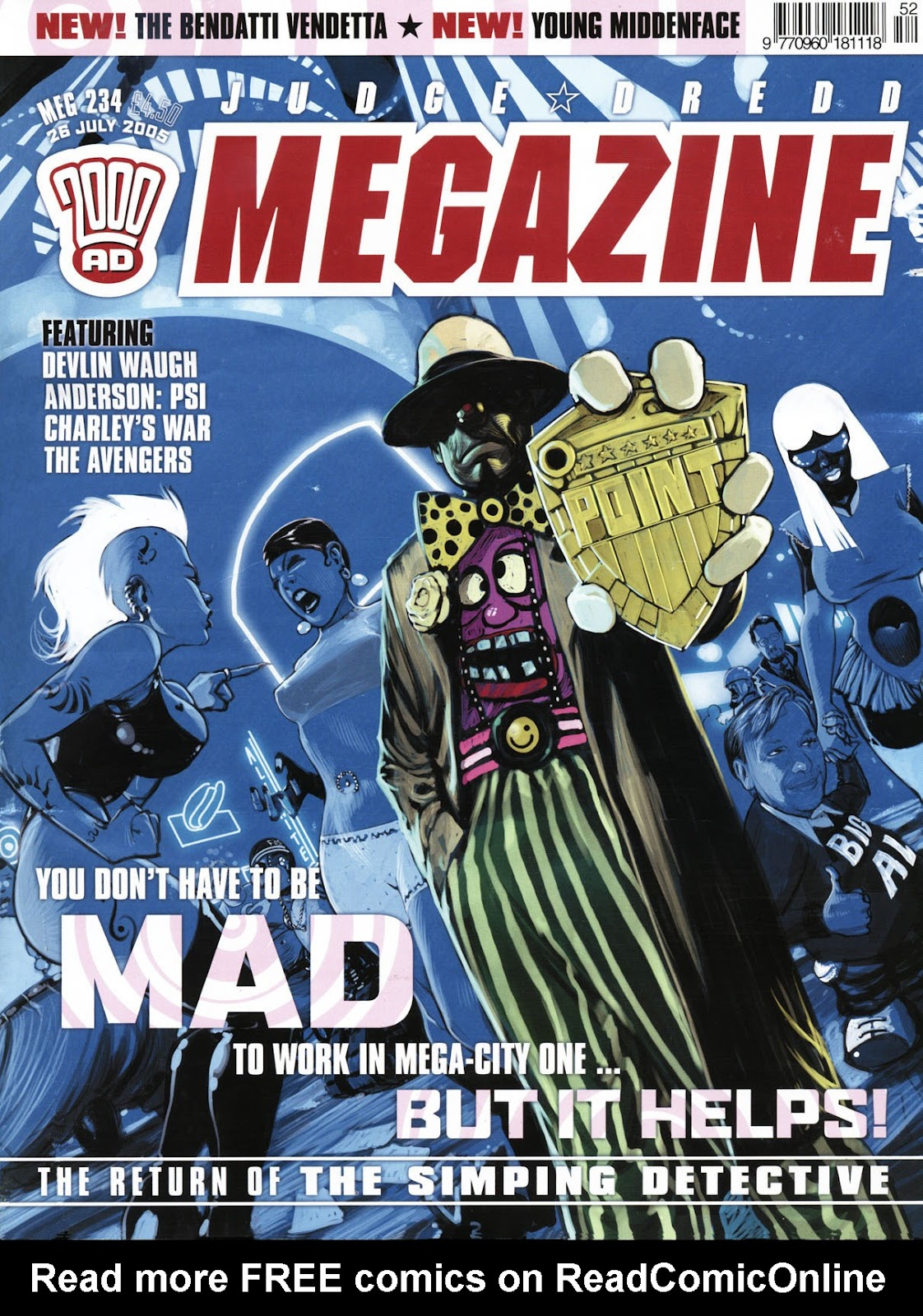 Judge Dredd Megazine (Vol. 5) issue 234 - Page 1