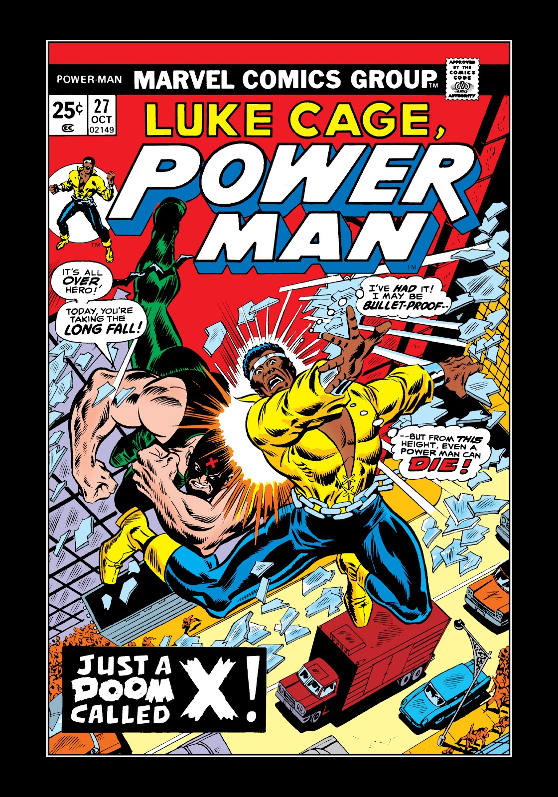 Read online Marvel Masterworks: Luke Cage, Power Man comic -  Issue # TPB 2 (Part 3) - 1