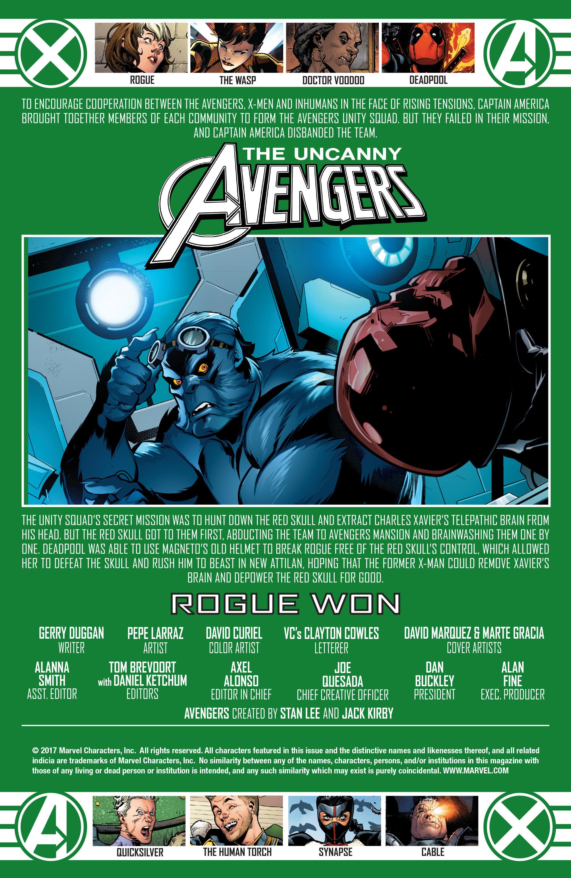 Read online Uncanny Avengers [II] comic -  Issue #22 - 2