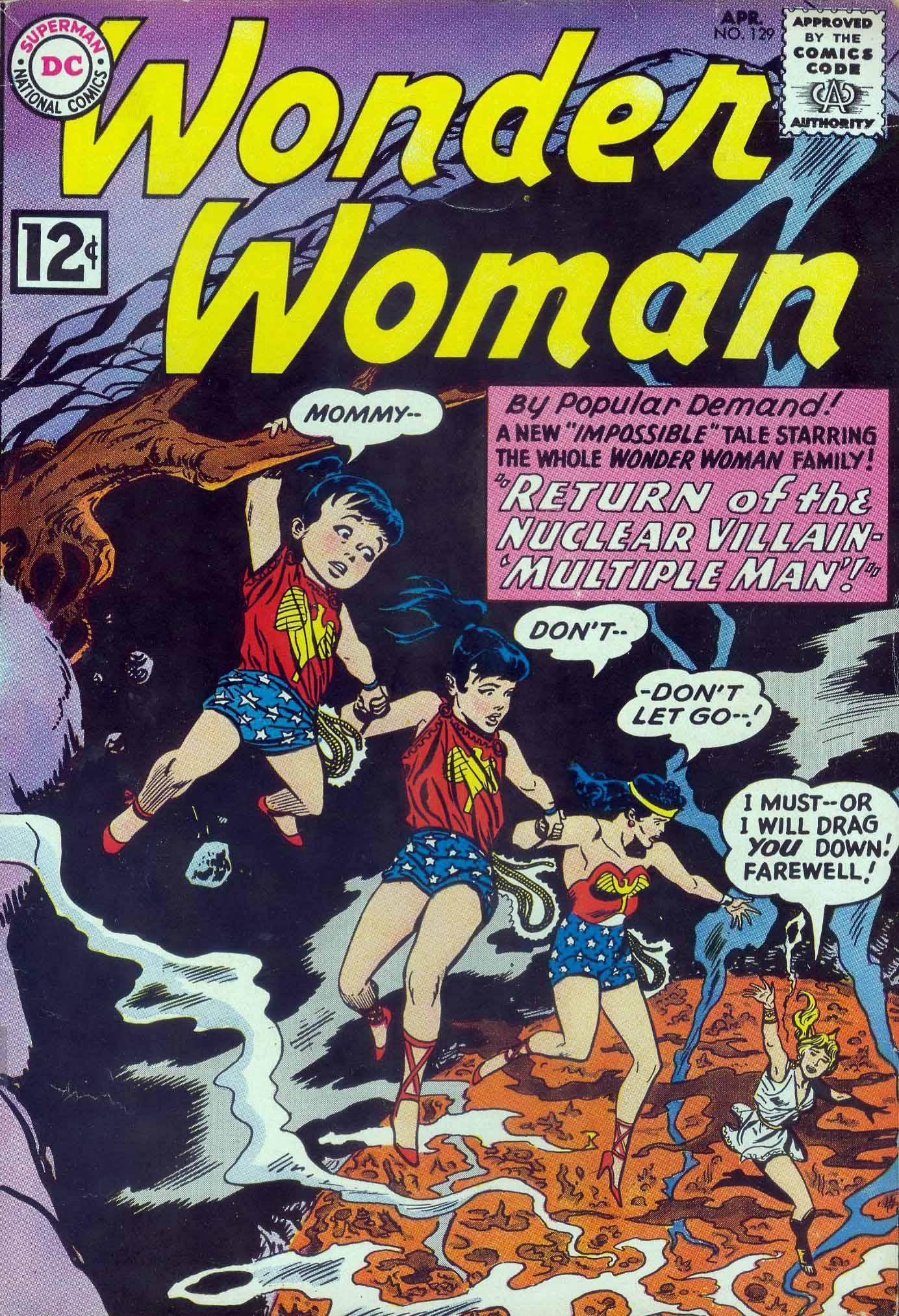 Read online Wonder Woman (1942) comic -  Issue #129 - 1