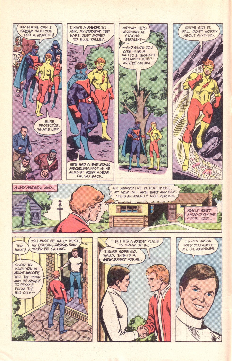 Read online The New Teen Titans (Drug Awareness Specials) comic -  Issue #1 - 6