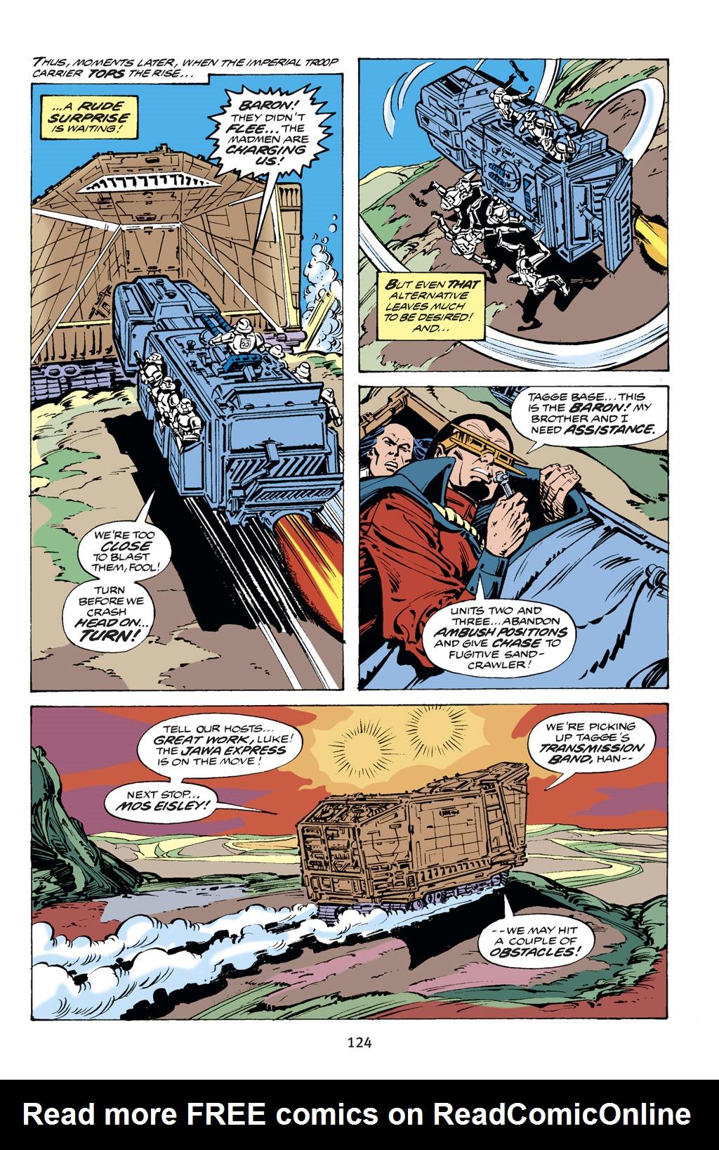 Read online Star Wars Omnibus comic -  Issue # Vol. 14 - 124