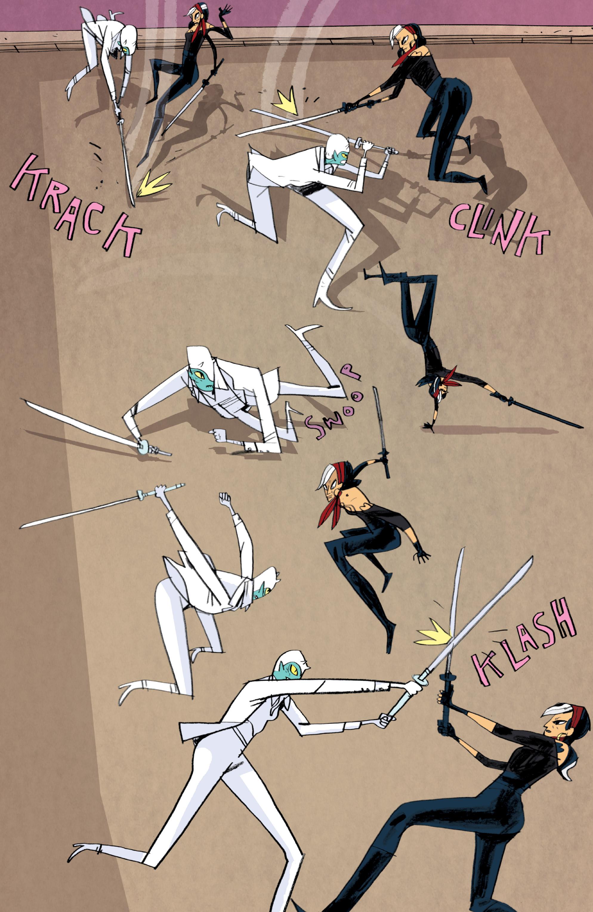 Read online Helena Crash comic -  Issue #3 - 9