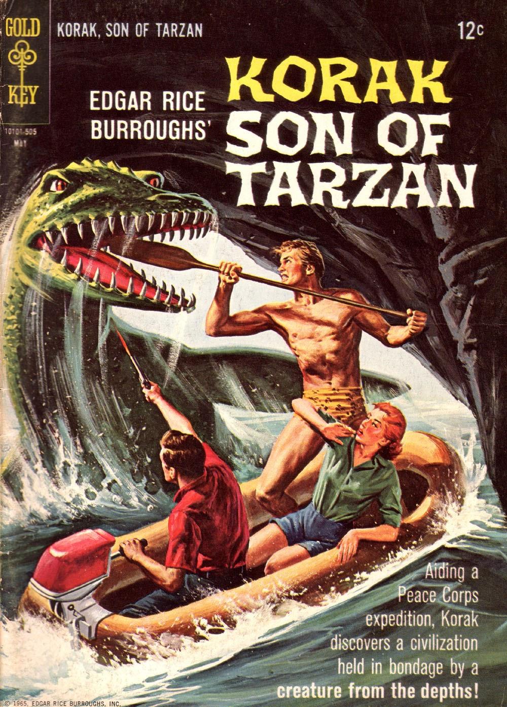 Korak, Son of Tarzan (1964) issue 8 - Page 1