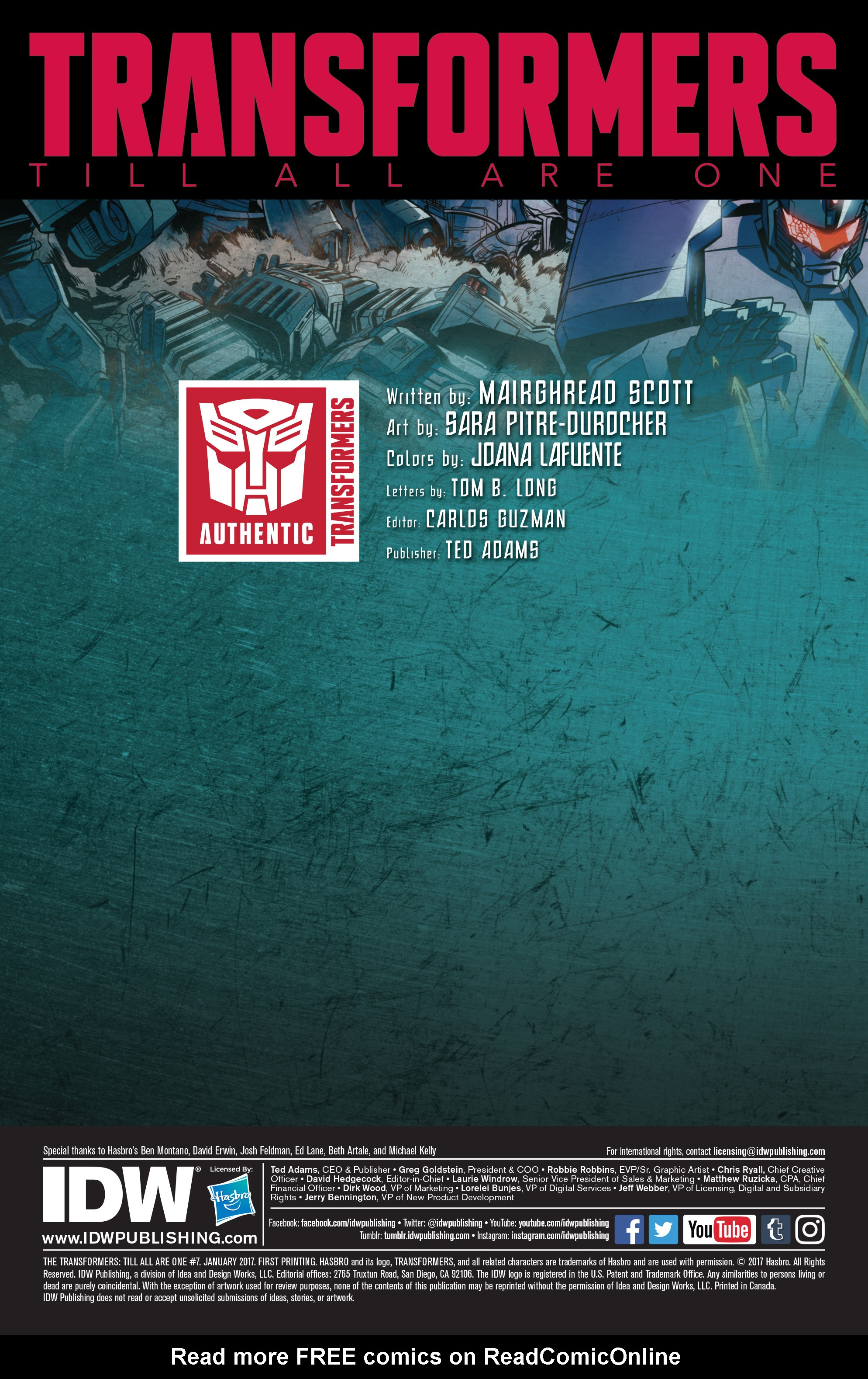 Read online Transformers: Till All Are One comic -  Issue #7 - 2