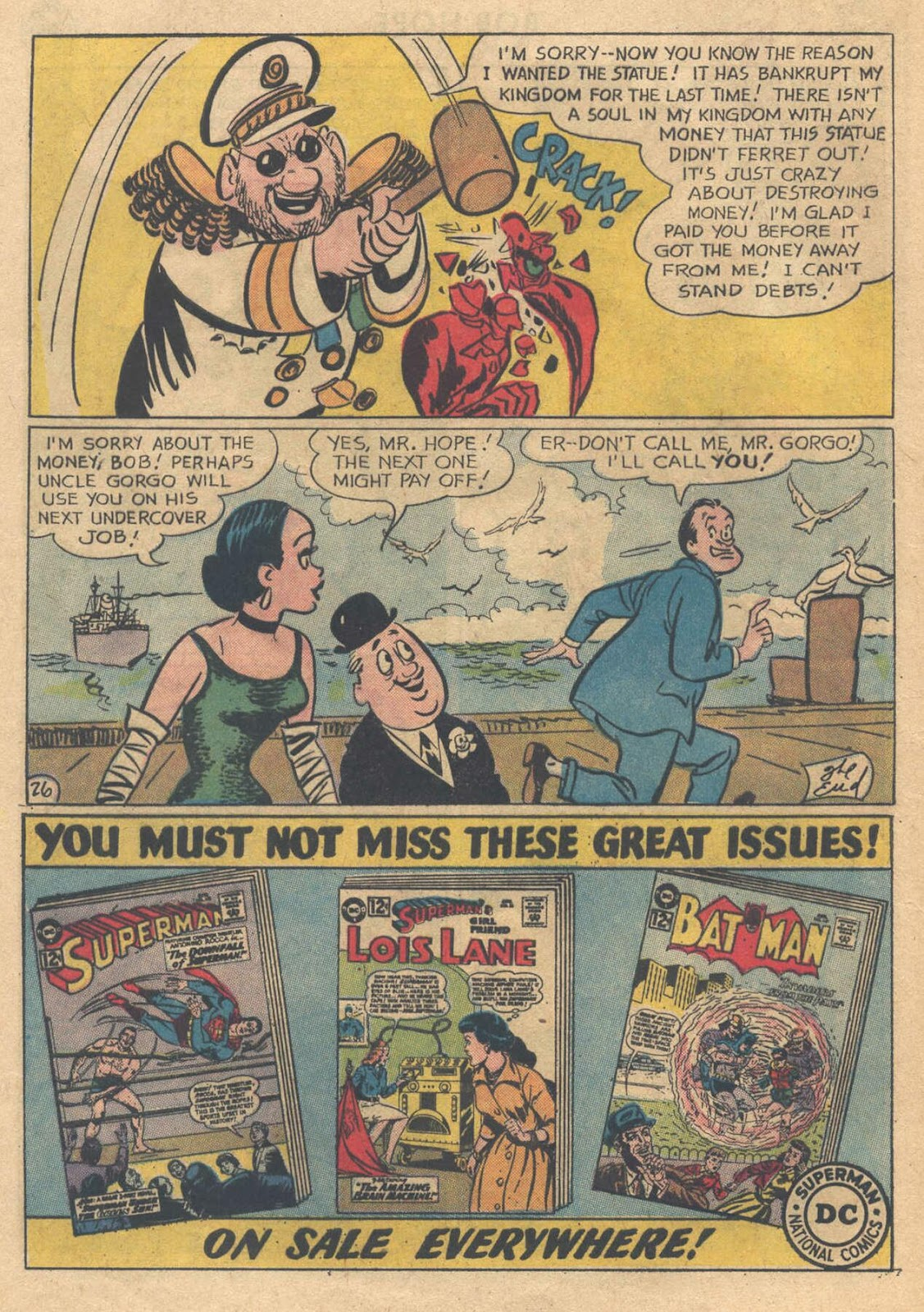 The Adventures of Bob Hope issue 76 - Page 32