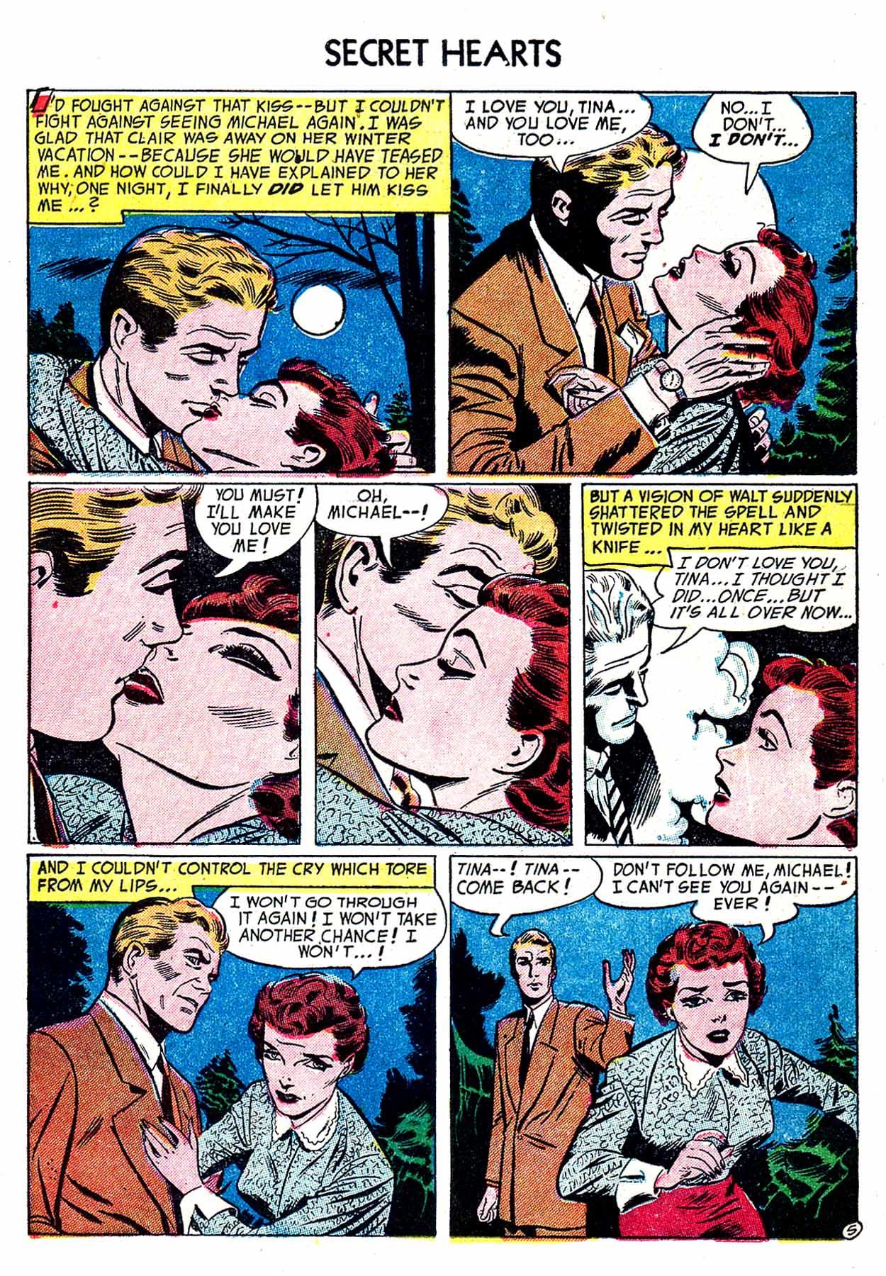 Read online Secret Hearts comic -  Issue #19 - 15
