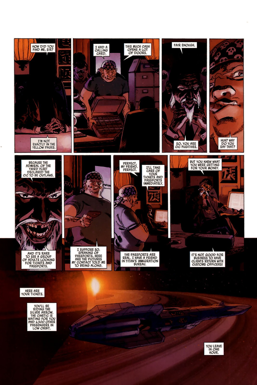 Read online Universal War One: Revelations comic -  Issue #1 - 15
