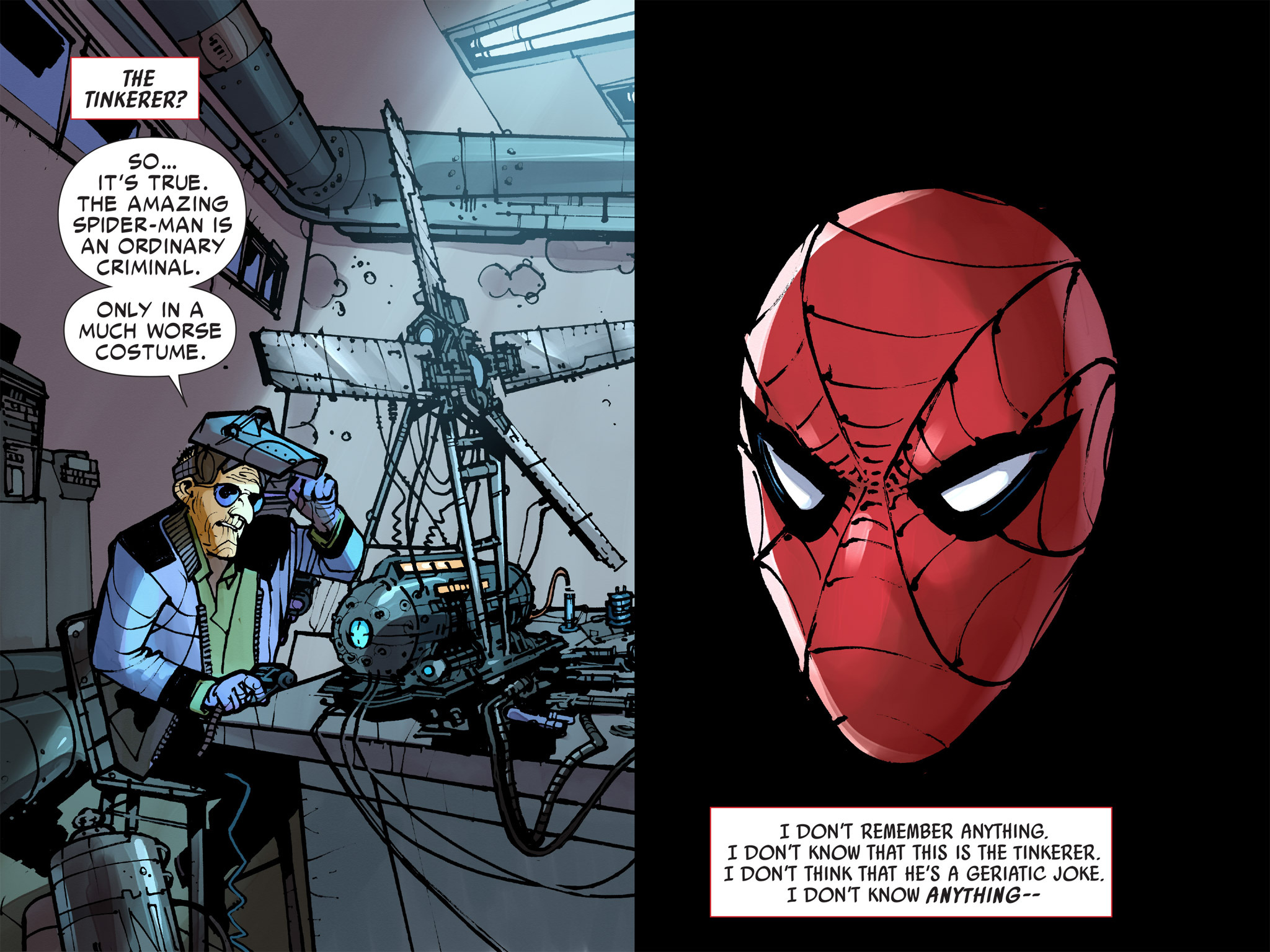 Read online Amazing Spider-Man: Who Am I? comic -  Issue # Full (Part 2) - 116