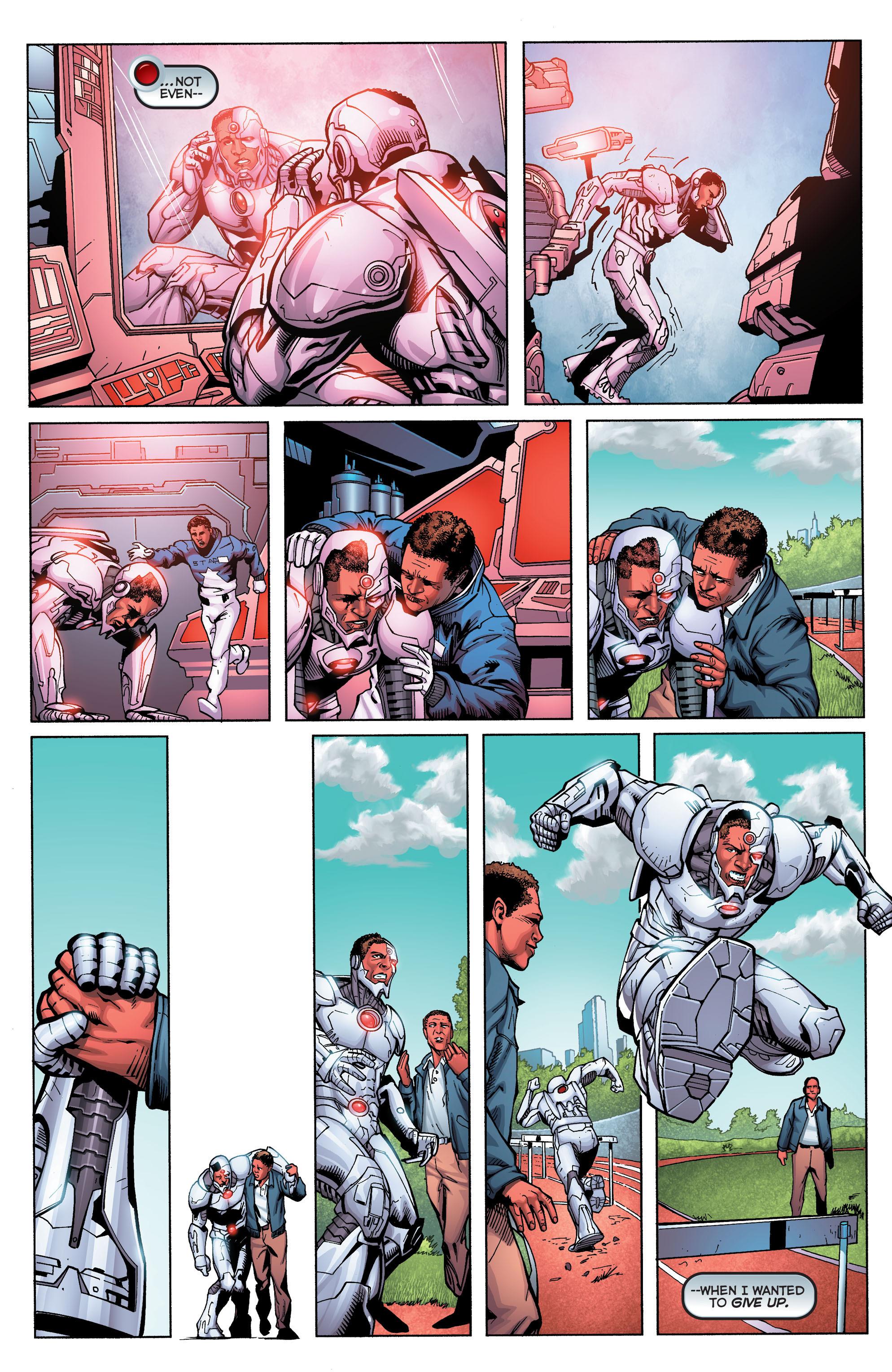 Read online Secret Origins (2014) comic -  Issue #5 - 10