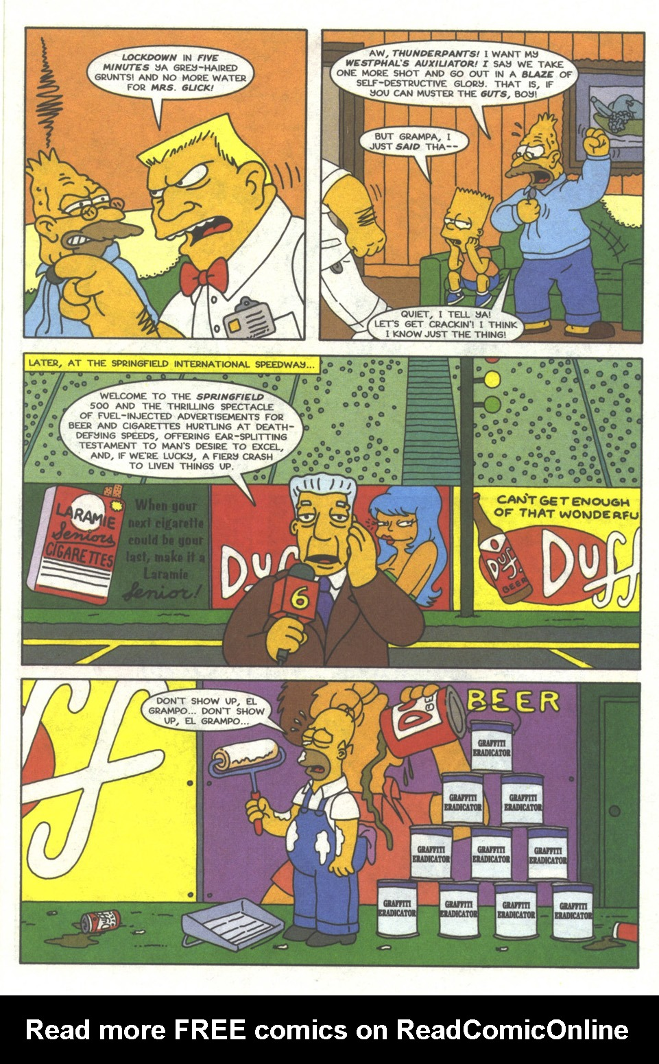 Read online Simpsons Comics comic -  Issue #37 - 16