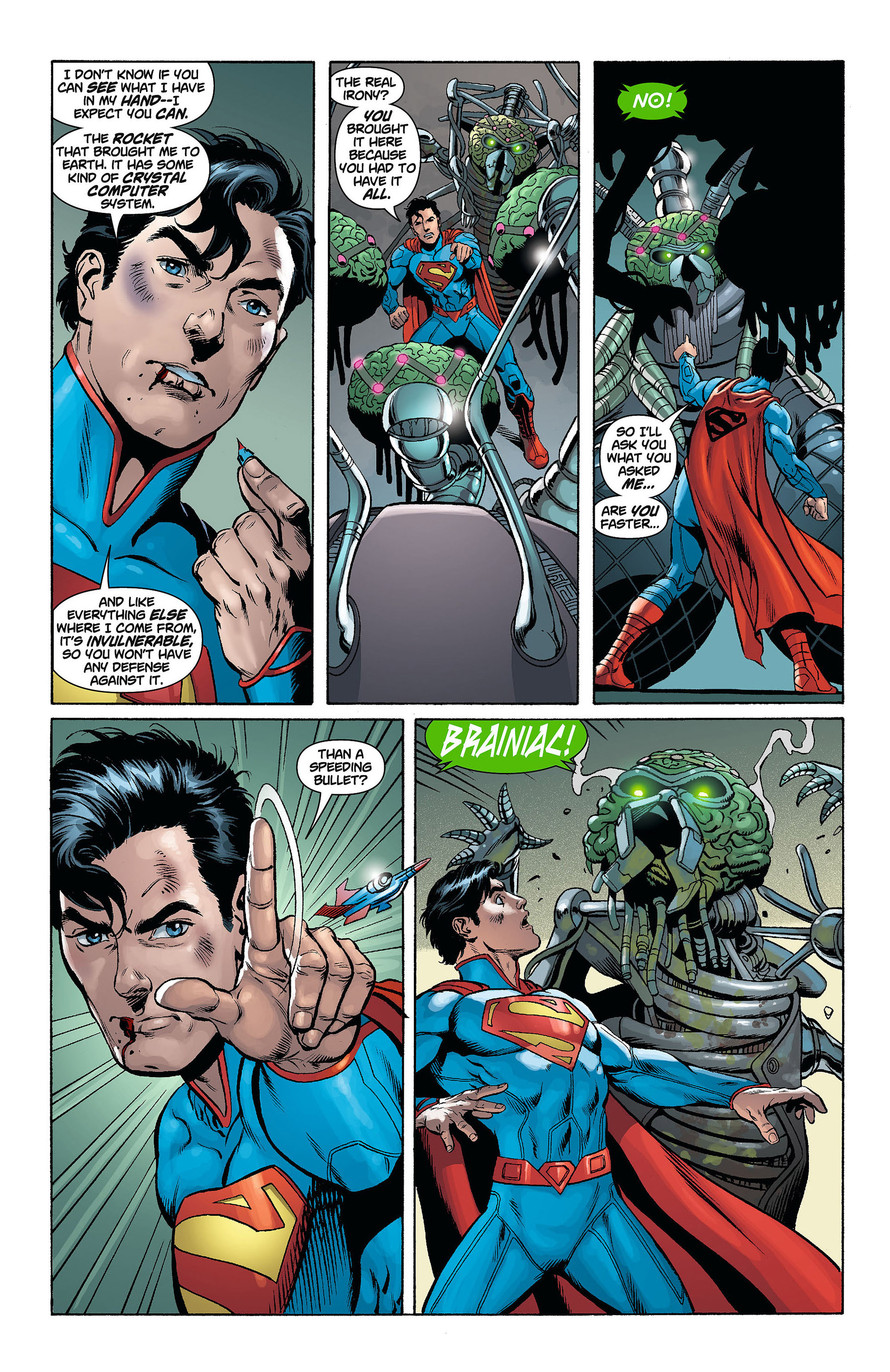 Read online Action Comics (2011) comic -  Issue #8 - 16