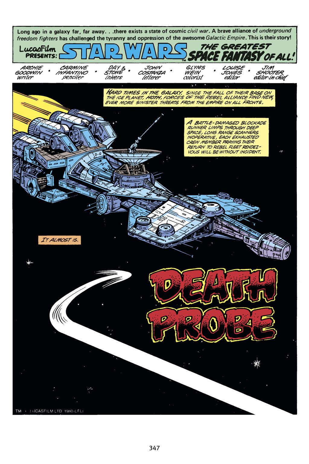 Read online Star Wars Omnibus comic -  Issue # Vol. 14 - 345