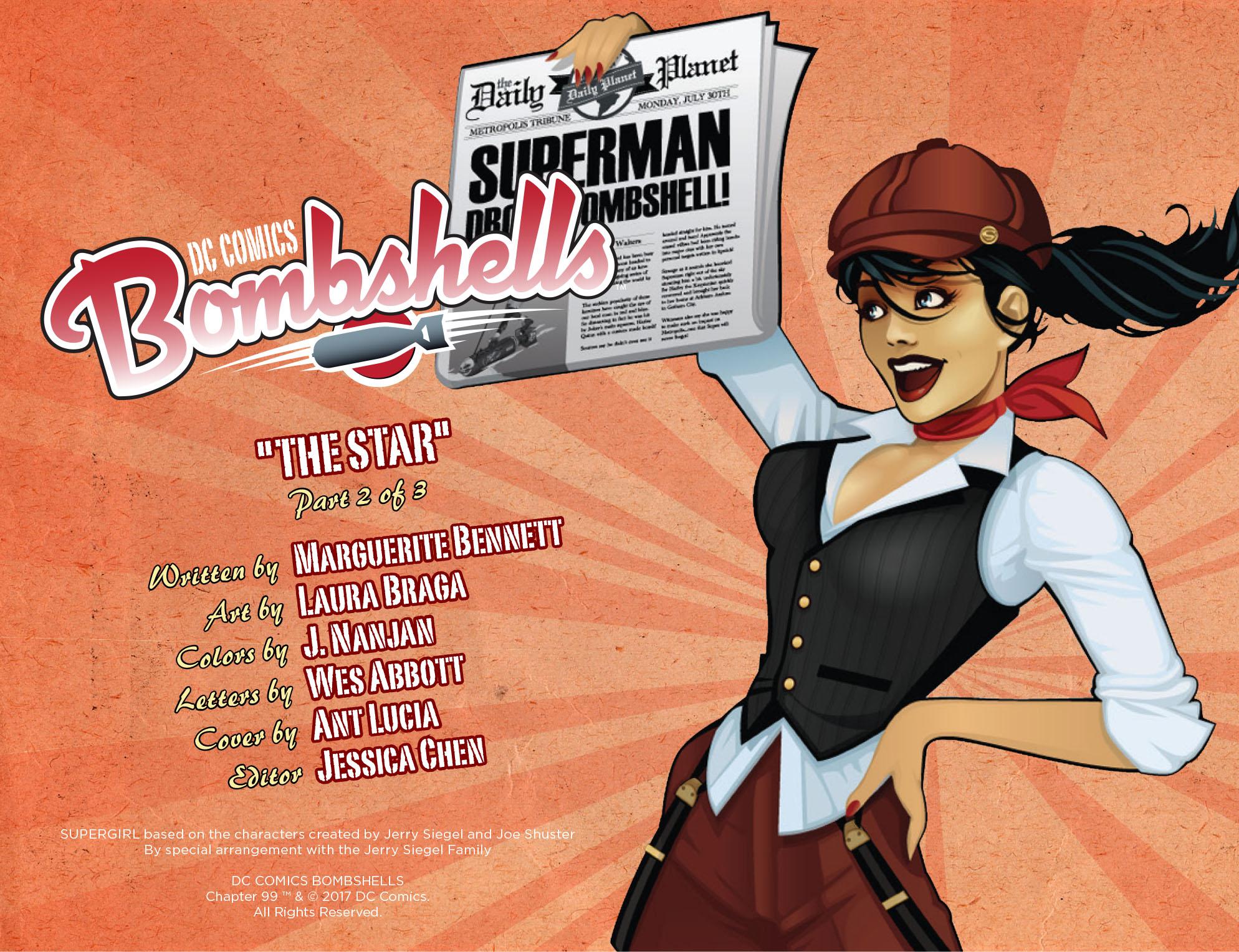 Read online DC Comics: Bombshells comic -  Issue #99 - 3