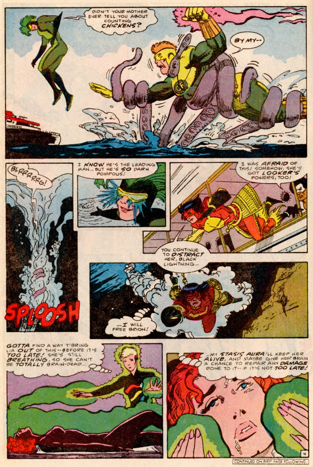 Read online Adventures of the Outsiders comic -  Issue #38 - 5