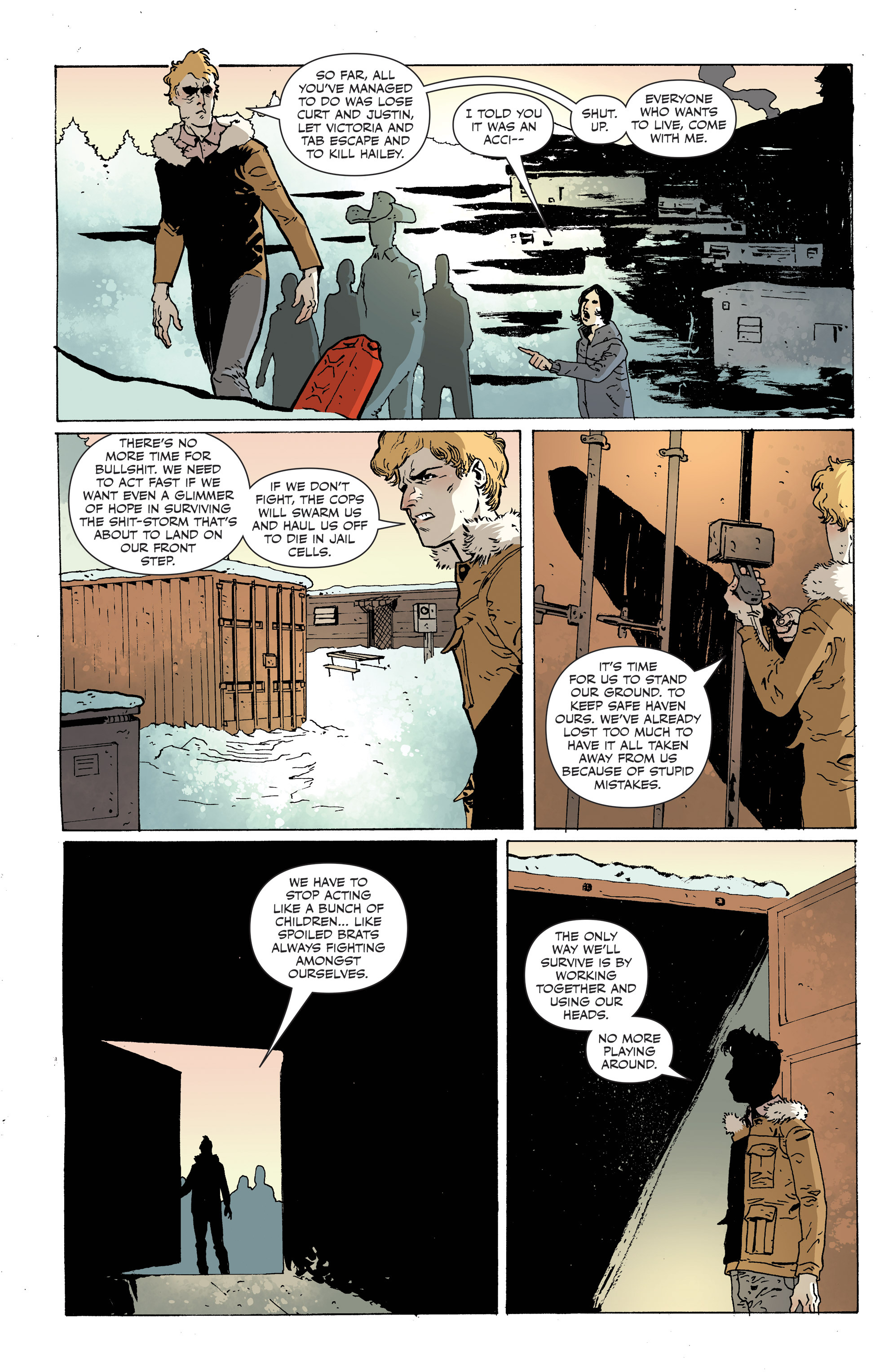 Read online Sheltered comic -  Issue #12 - 23