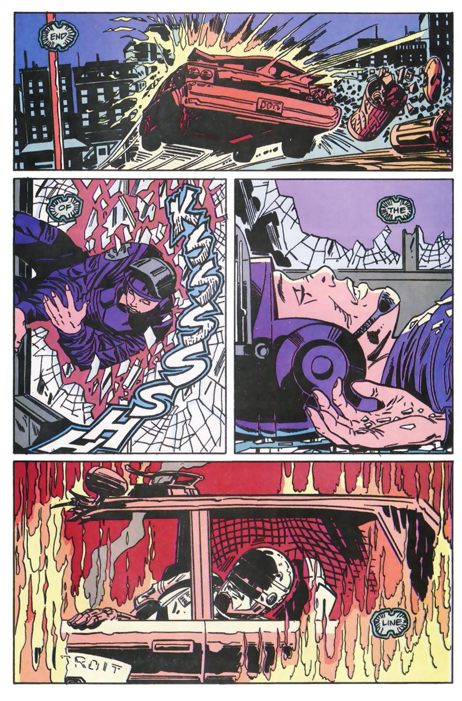 Read online Robocop (1990) comic -  Issue #11 - 15