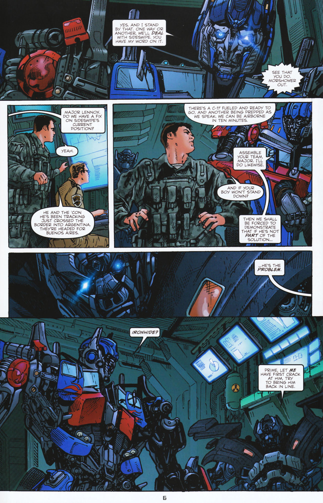Read online Transformers: Tales of The Fallen comic -  Issue #2 - 7