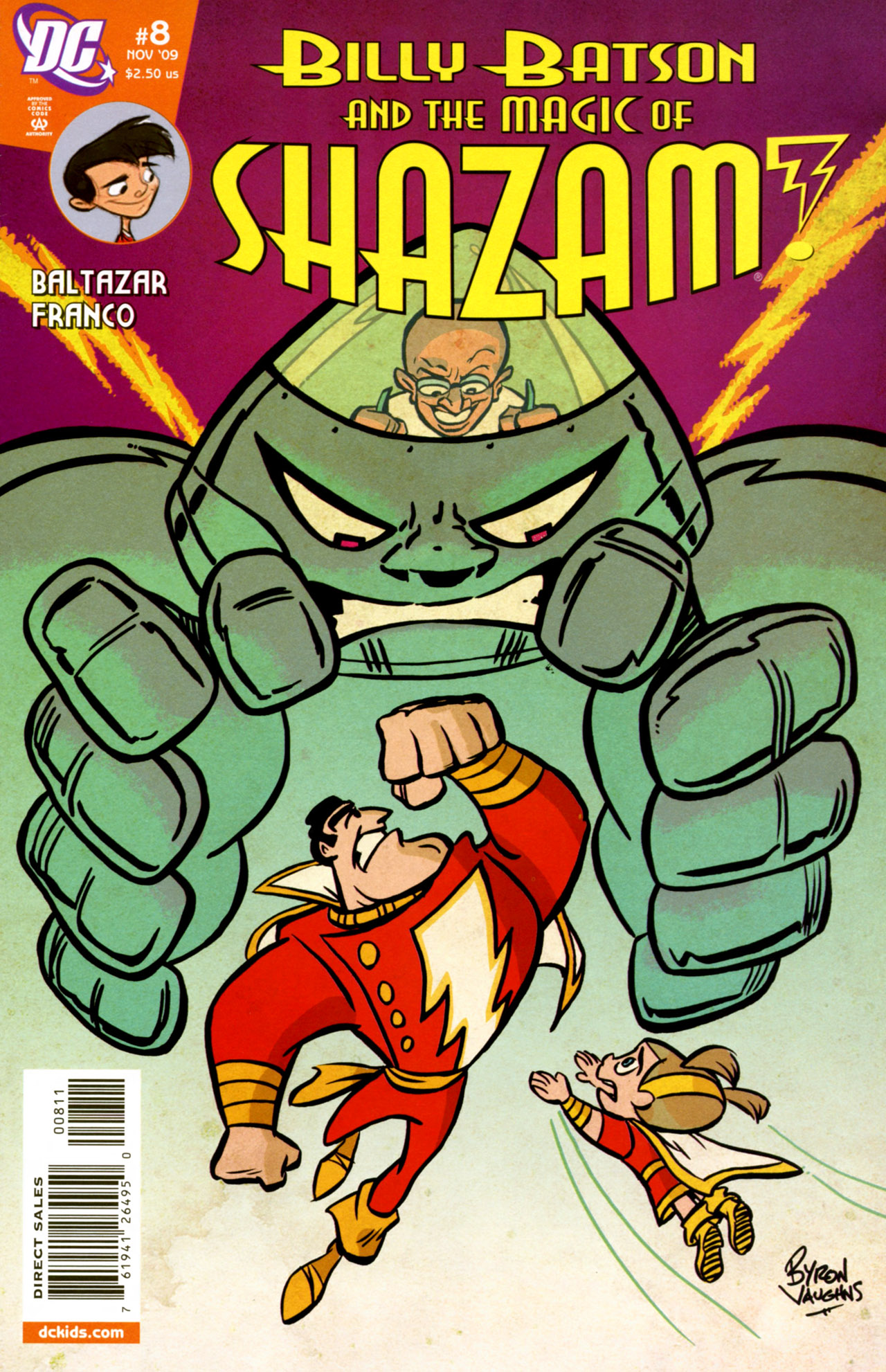 Billy Batson & The Magic of Shazam! 8 Page 1