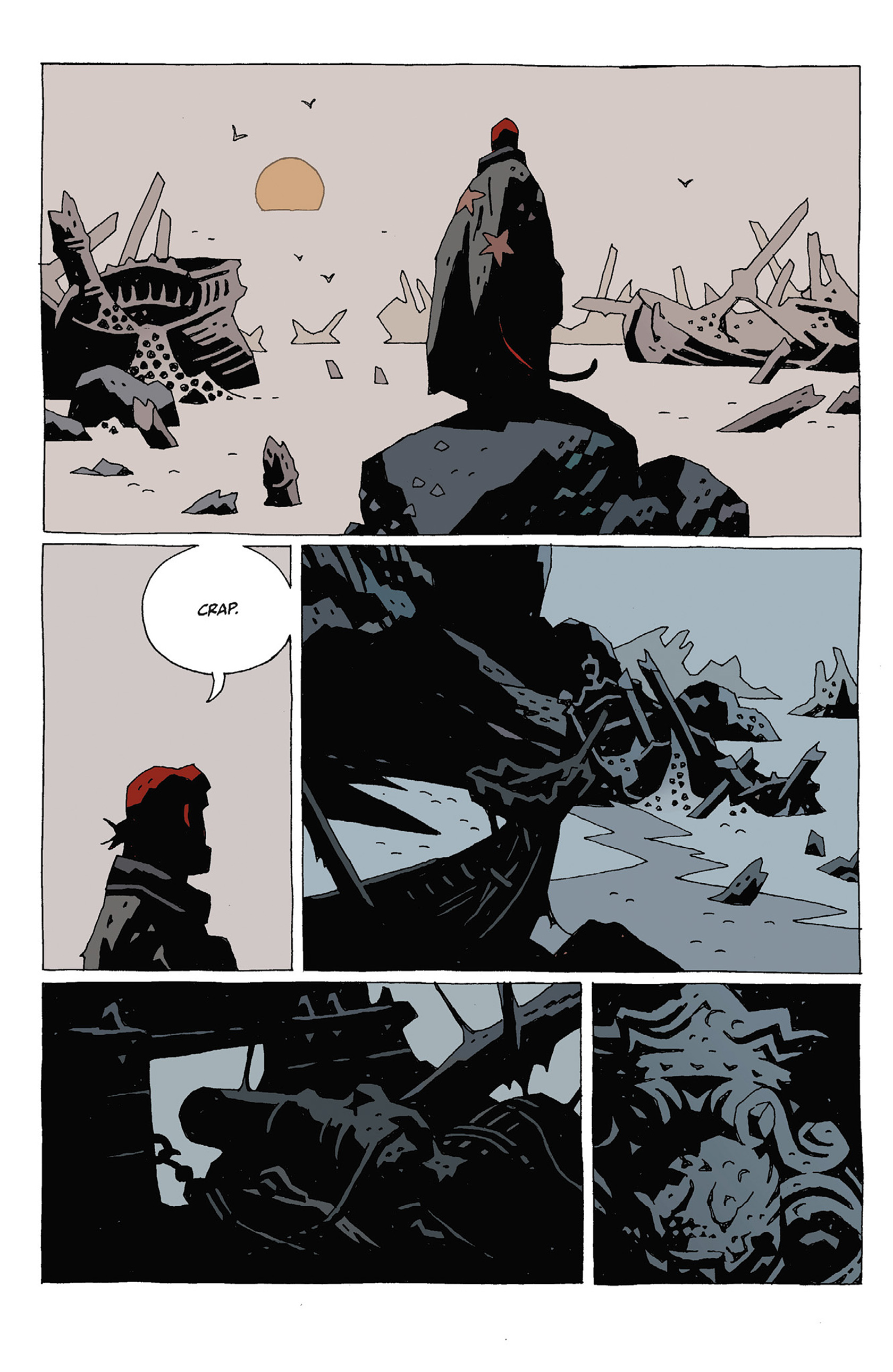 Read online Hellboy: Strange Places comic -  Issue # TPB - 70