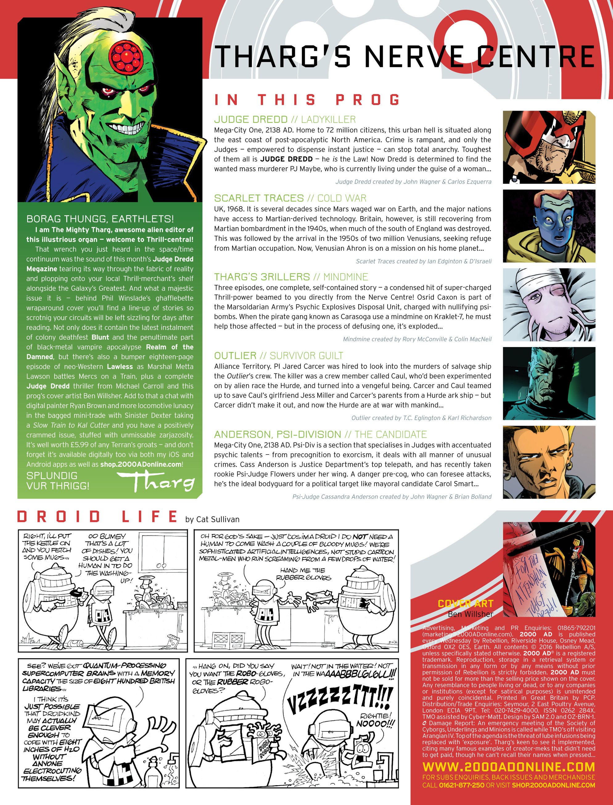 Read online 2000 AD comic -  Issue #1994 - 2