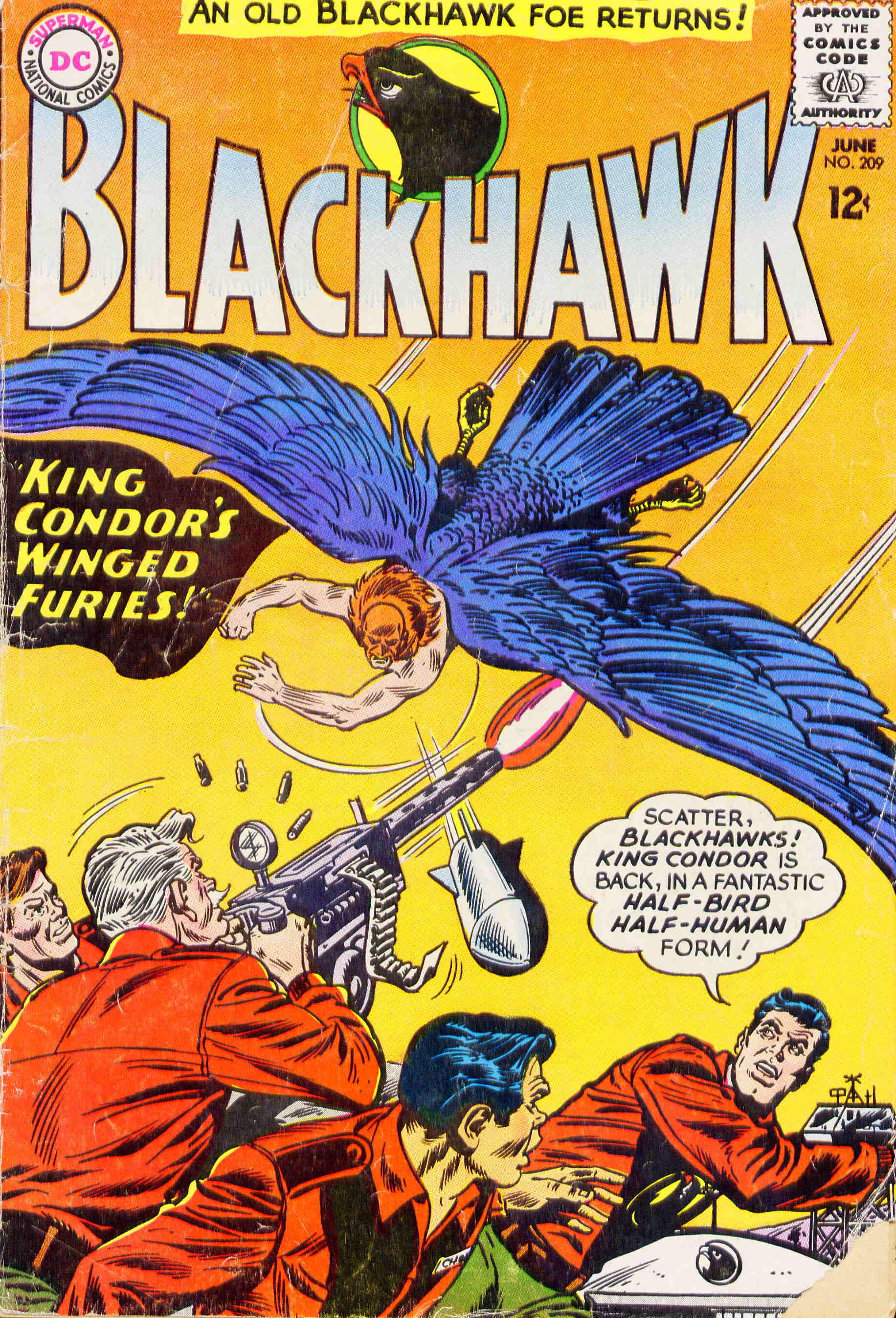 Blackhawk (1957) 209 Page 1