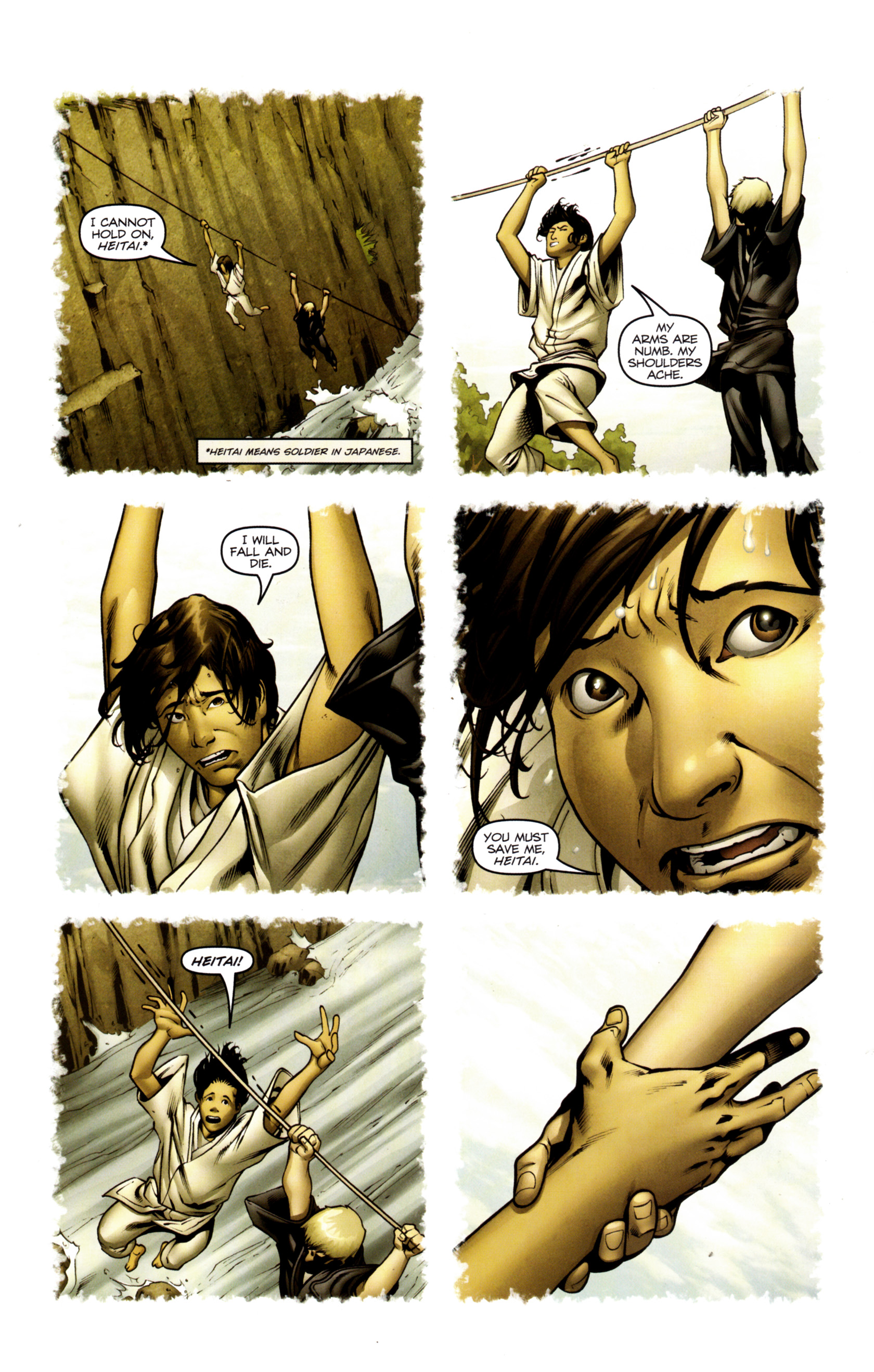 Read online Snake Eyes and Storm Shadow comic -  Issue #13 - 9