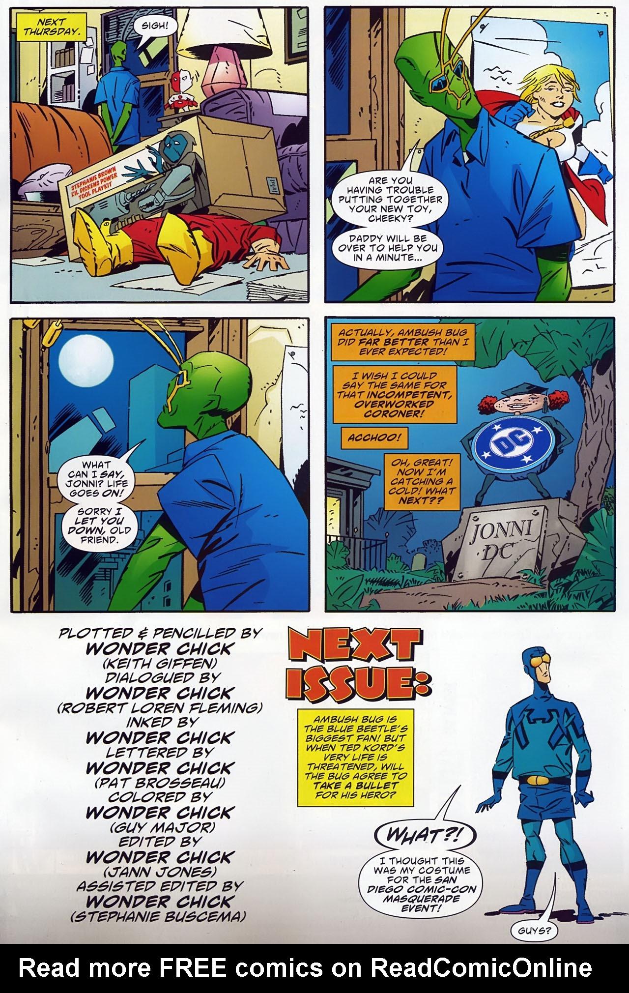 Read online Ambush Bug: Year None comic -  Issue #1 - 23