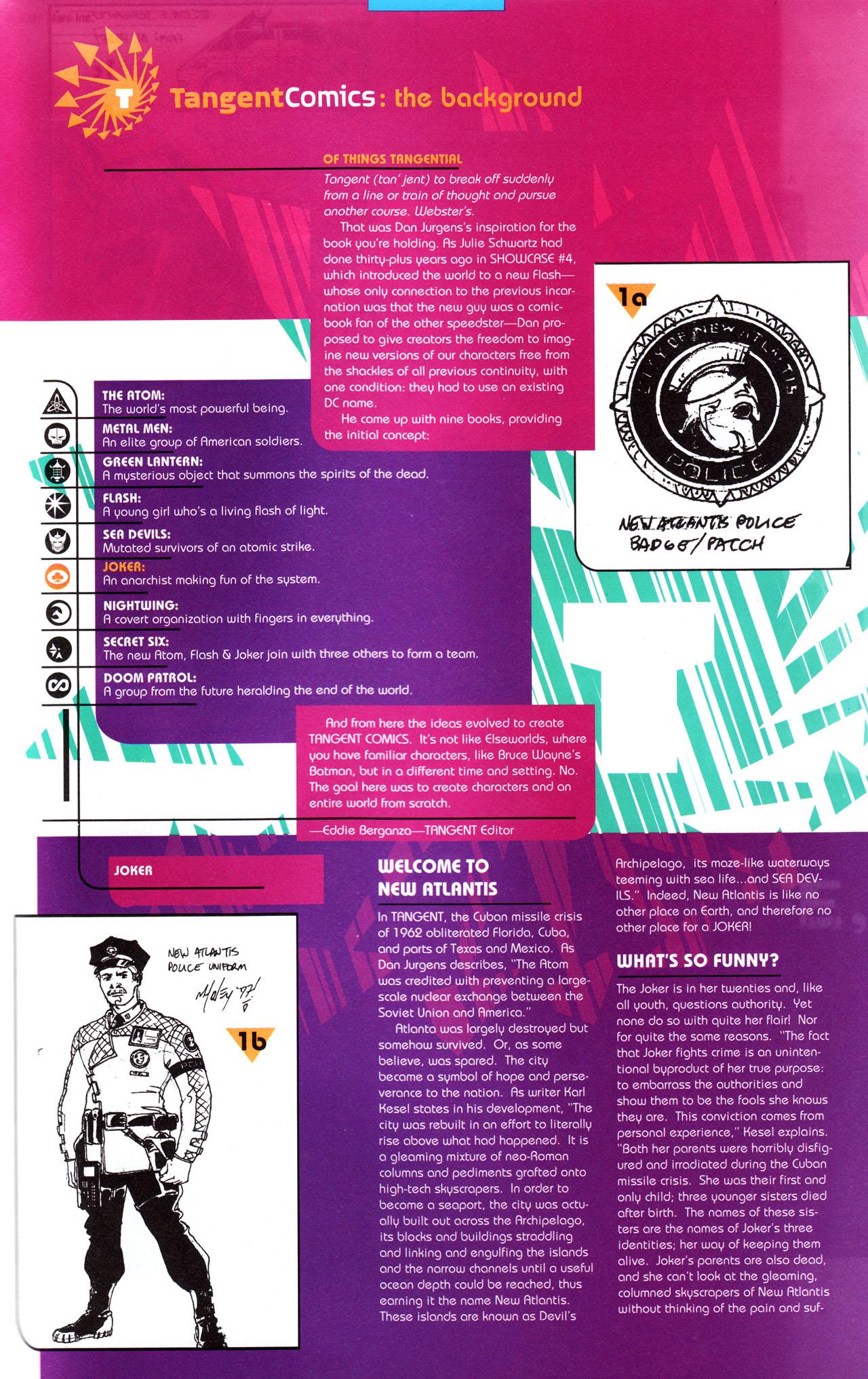 Read online Tangent Comics/ The Joker comic -  Issue # Full - 40